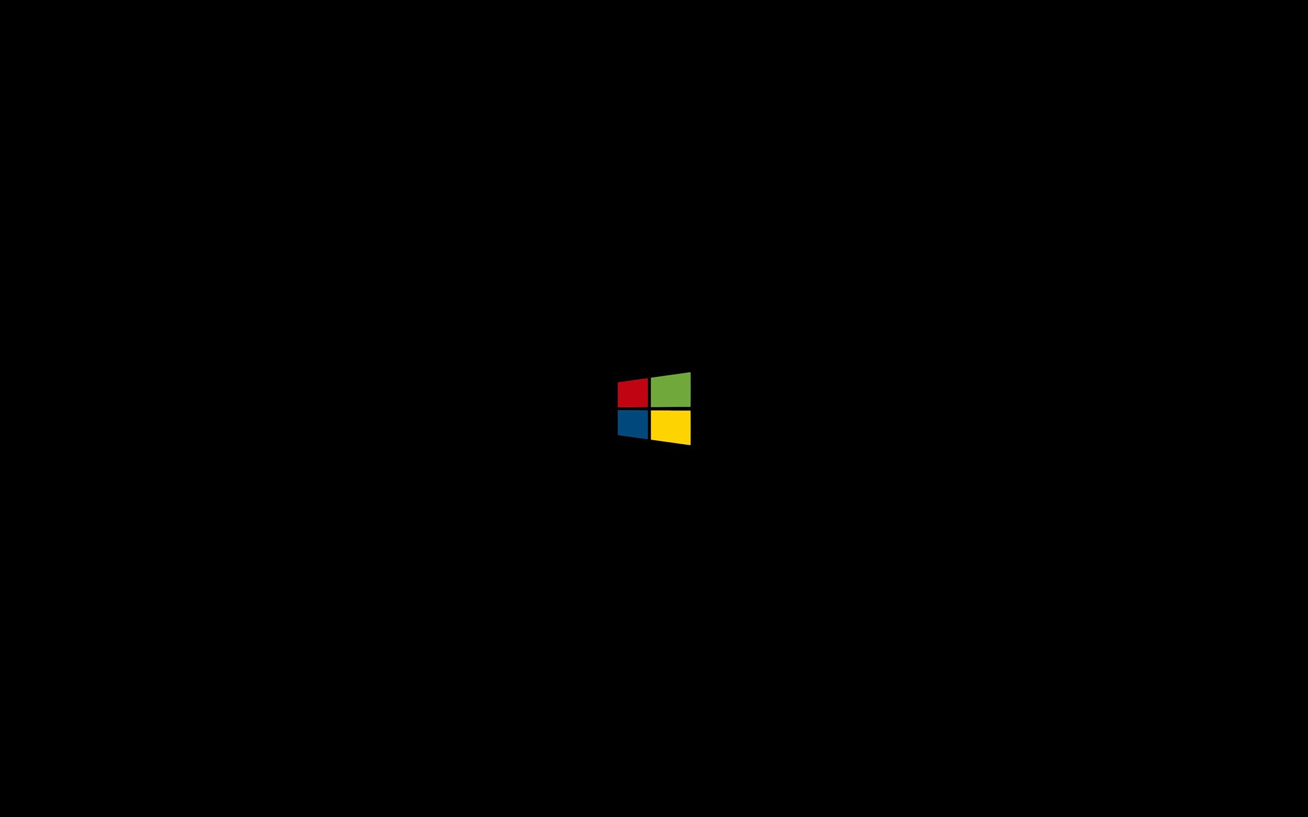 Masaüstü Basit Arka Plan Minimalizm Logo Lens Parlaması