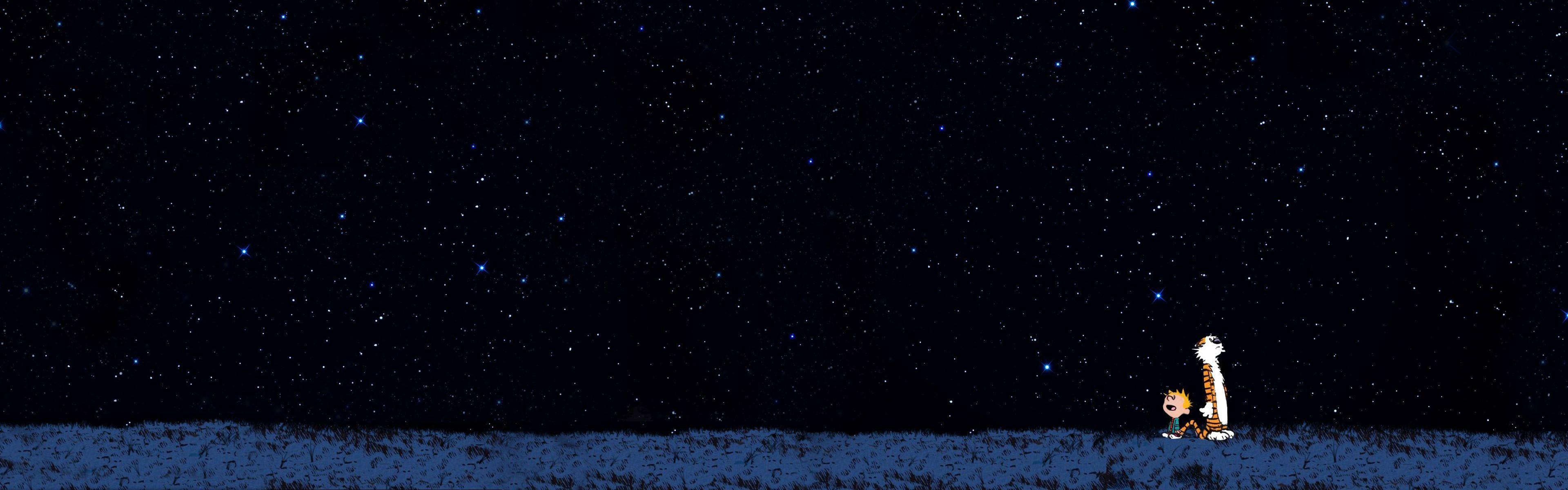 anime starry night sky wallpaper