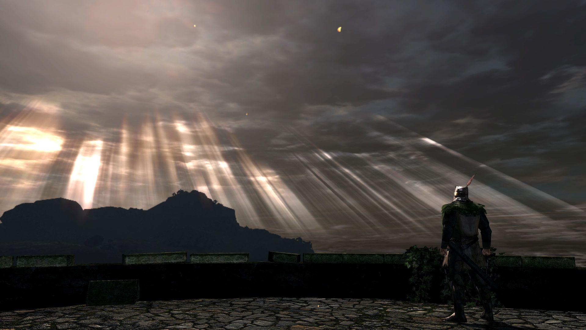 Wallpaper Sky Dark Souls 1920x1080 Jakkeriy 1445127 Hd