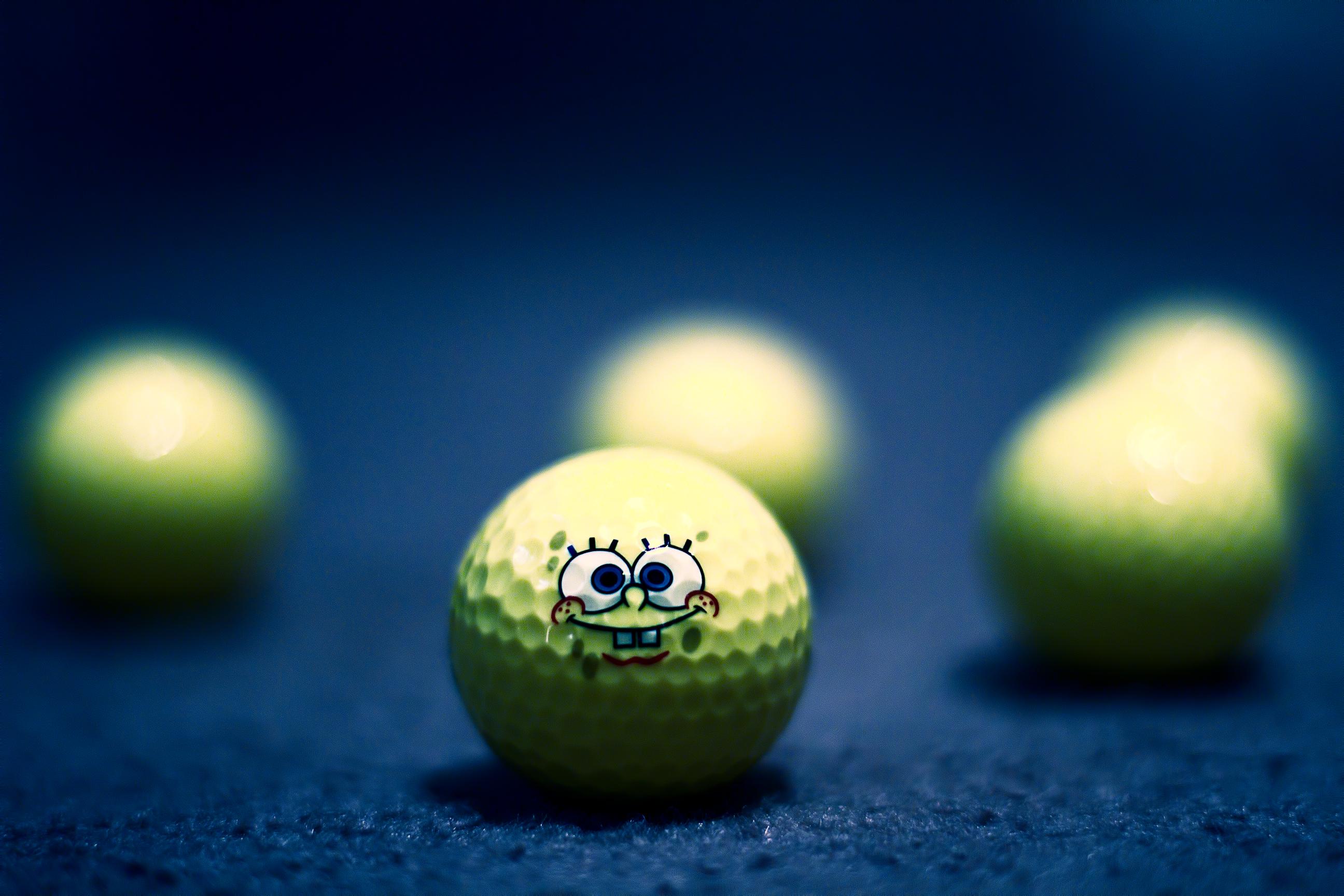 Wallpaper Sky Cartoon Balls Golf Lime Mygearandme Character