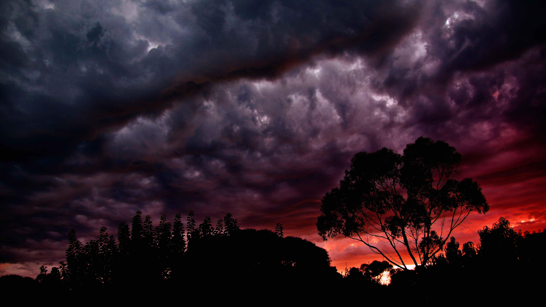 Обои Облака, ночь. Природа foto 16