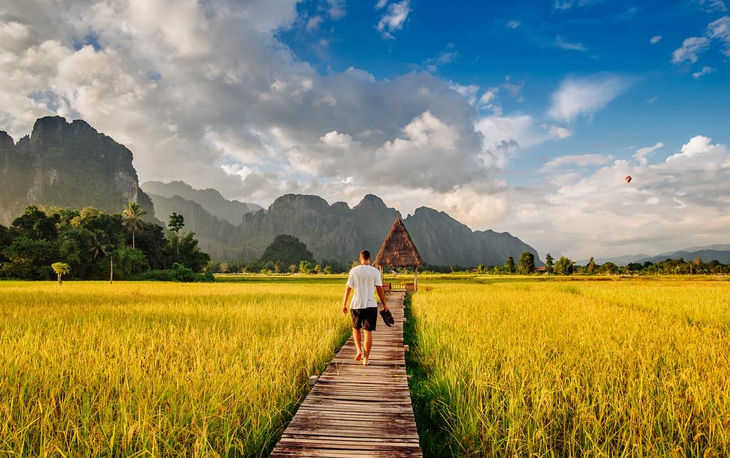 78+ Gambar Alam Pegunungan Dan Persawahan Terbaik