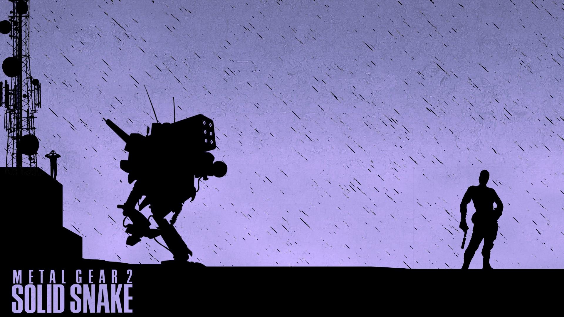 Wallpaper Sky Shadow Silhouette Metal Gear Solid Metal Gear
