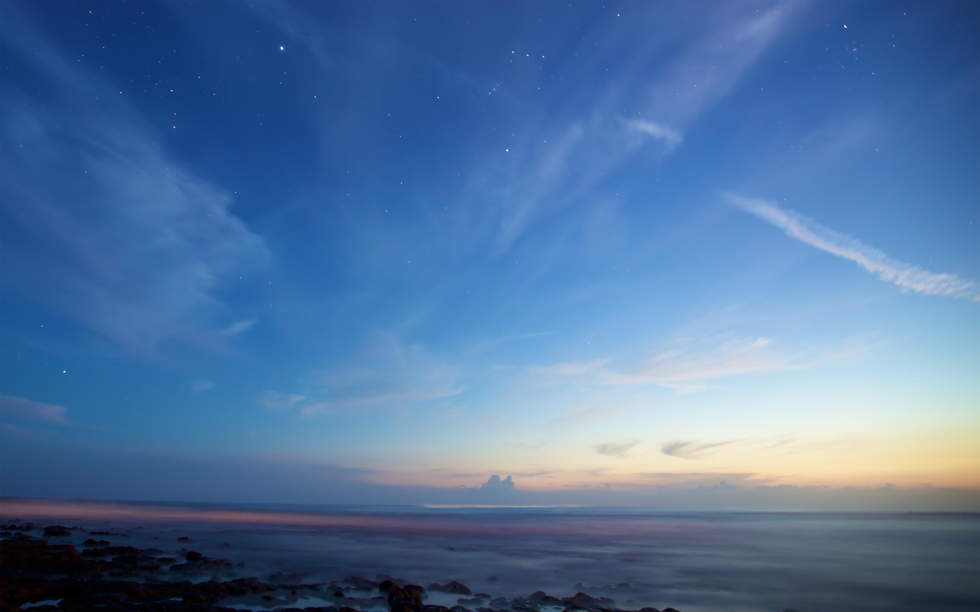 Twilight Blue >> Wallpaper : sky, stars, Twilight, blue 3200x2000 - wallup - 682621 - HD Wallpapers - WallHere