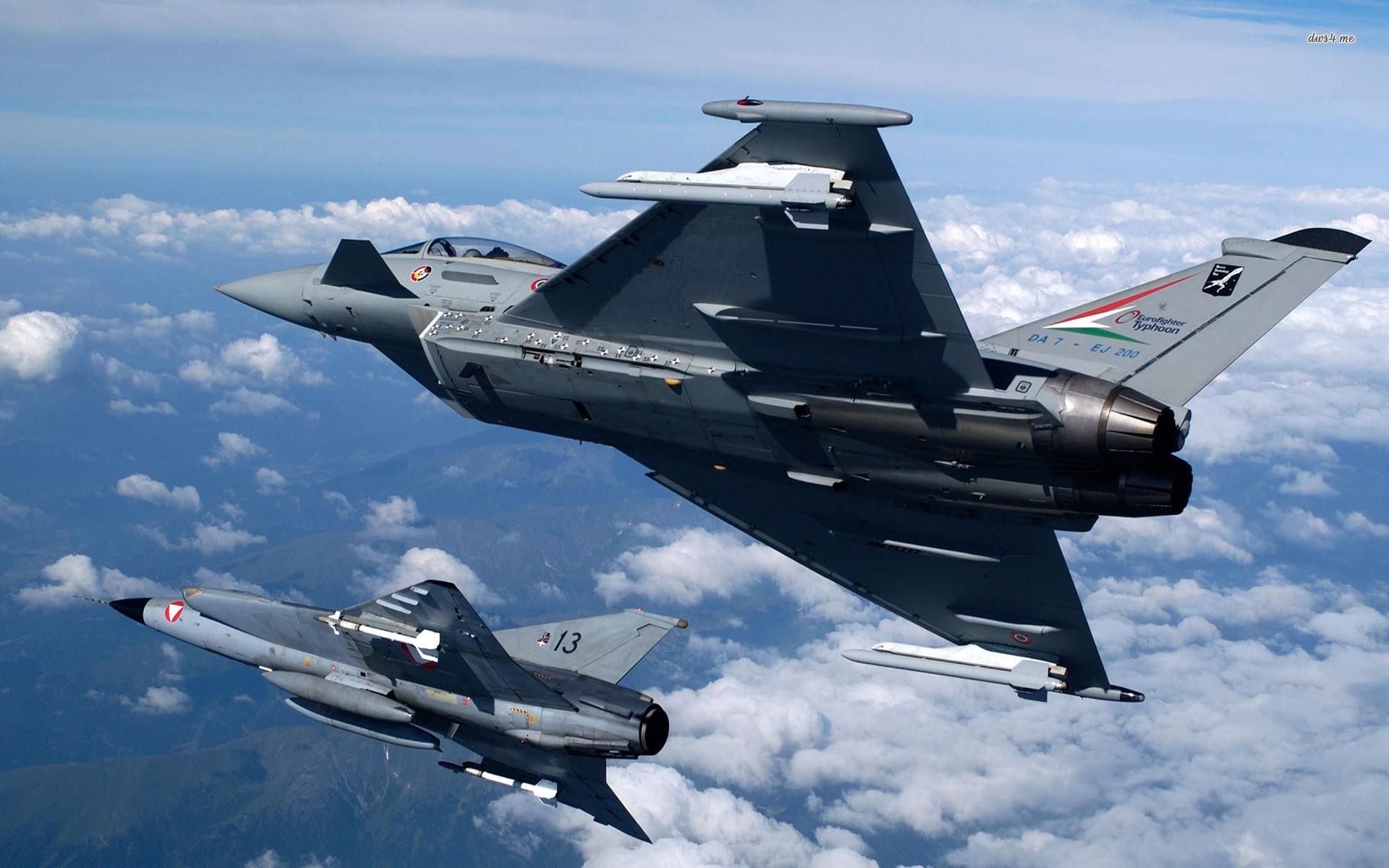 Aereo Da Caccia F15 : Sfondi cielo veicolo aereo eurofighter typhoon aerei