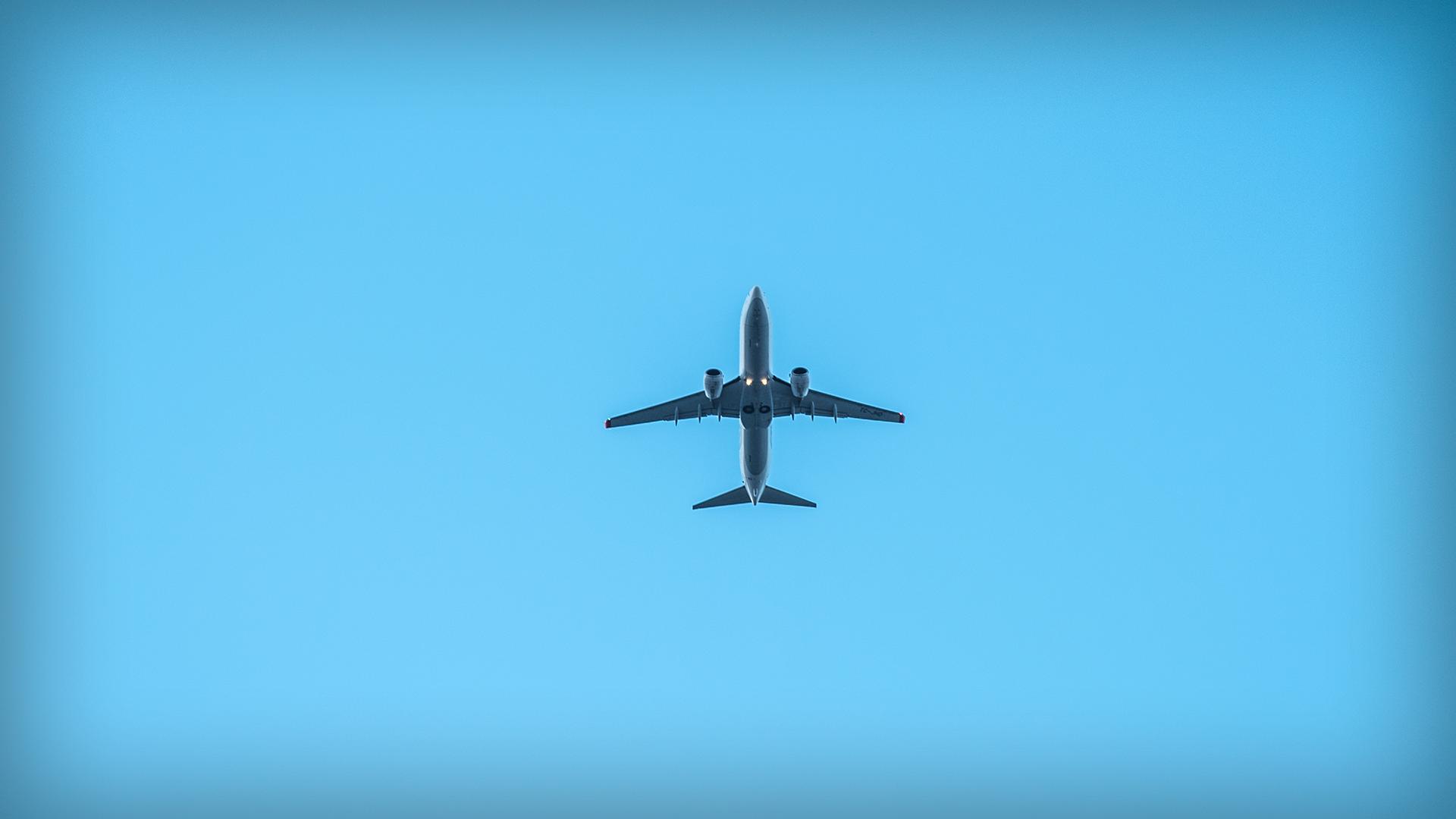 Обои в небе, Самолёт. Авиация