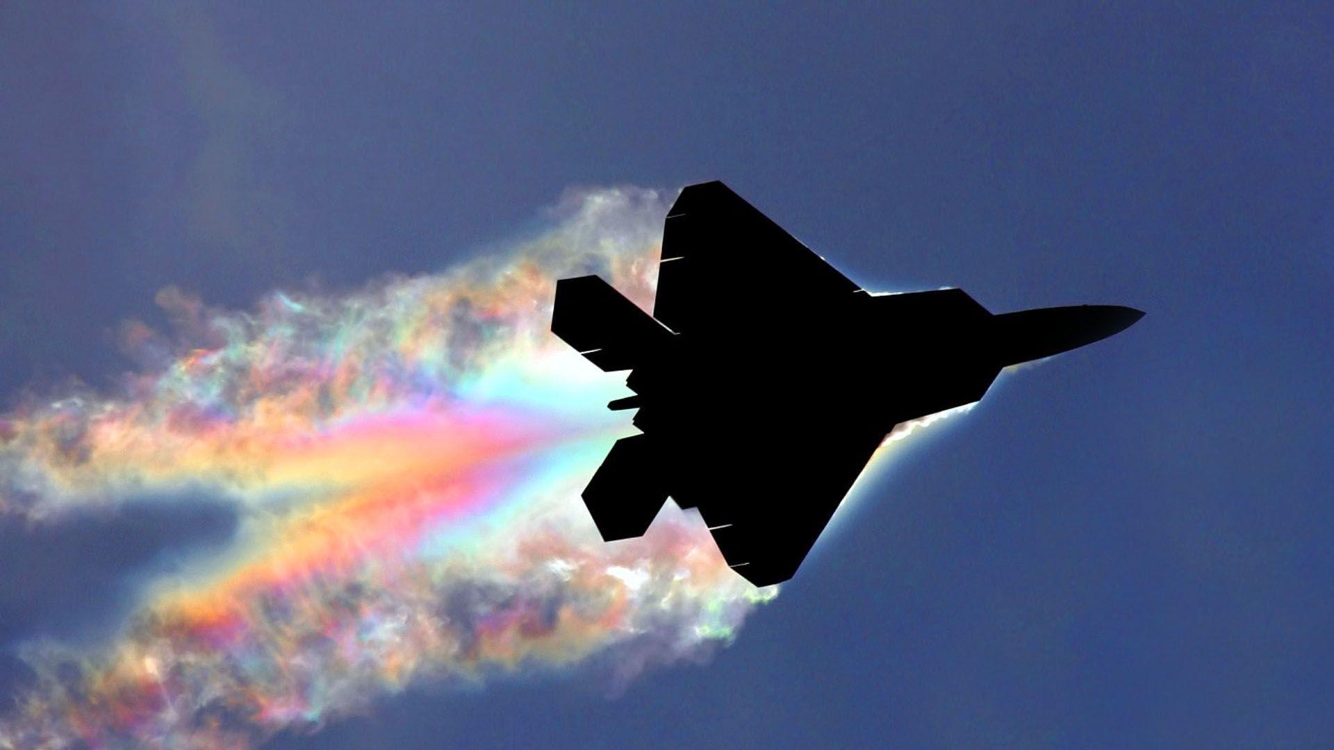 Обои Облака, раптор. Авиация foto 16