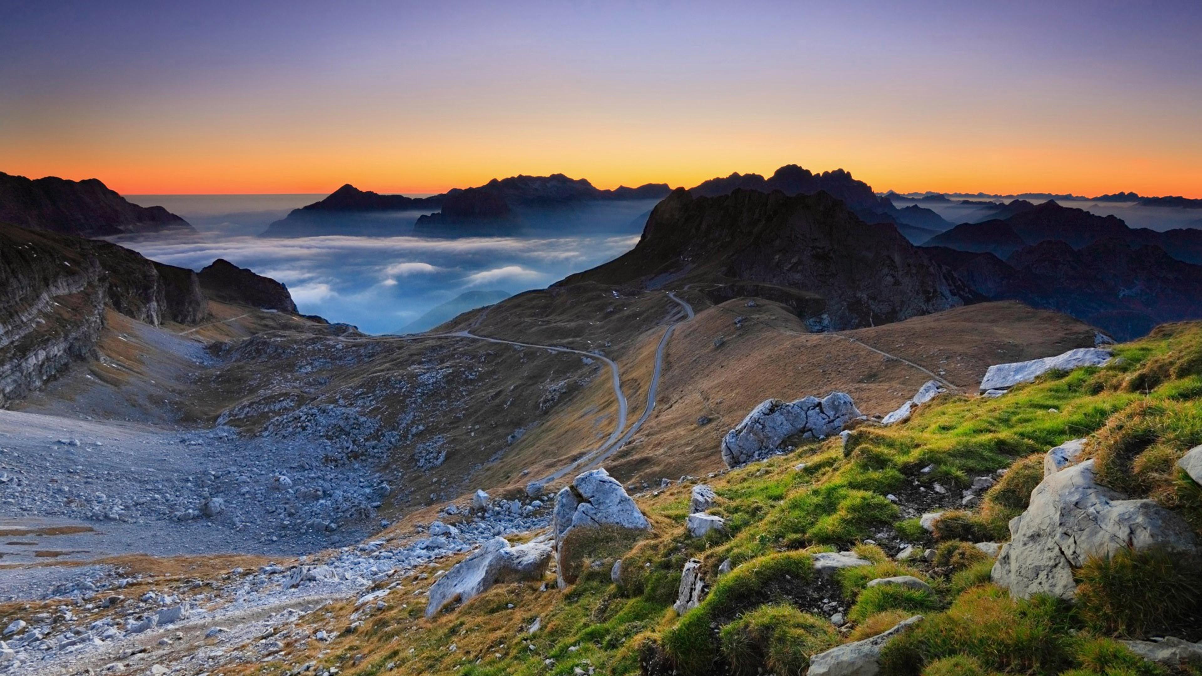 Wallpaper sky wilderness highland coast headland morning mount scenery fell dawn - Highland park wallpaper ...