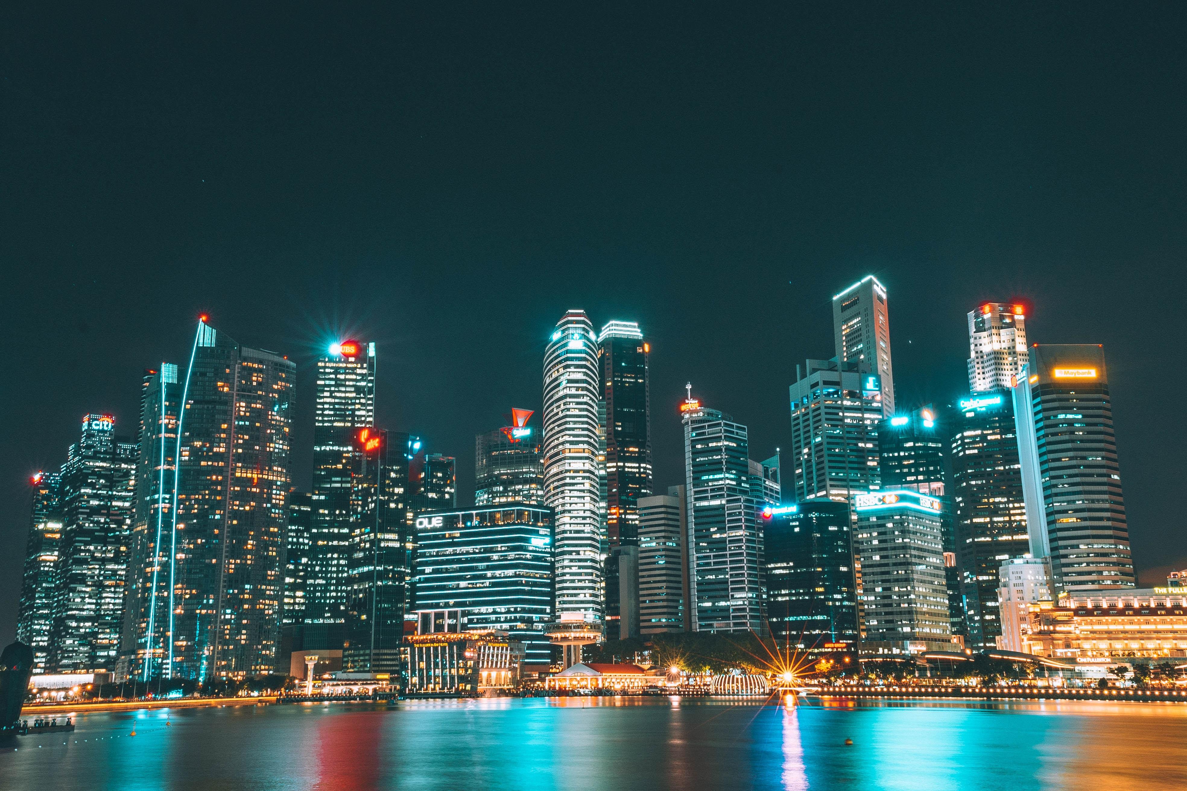 Fondos De Pantalla : Rascacielos, Edificios, Ciudad