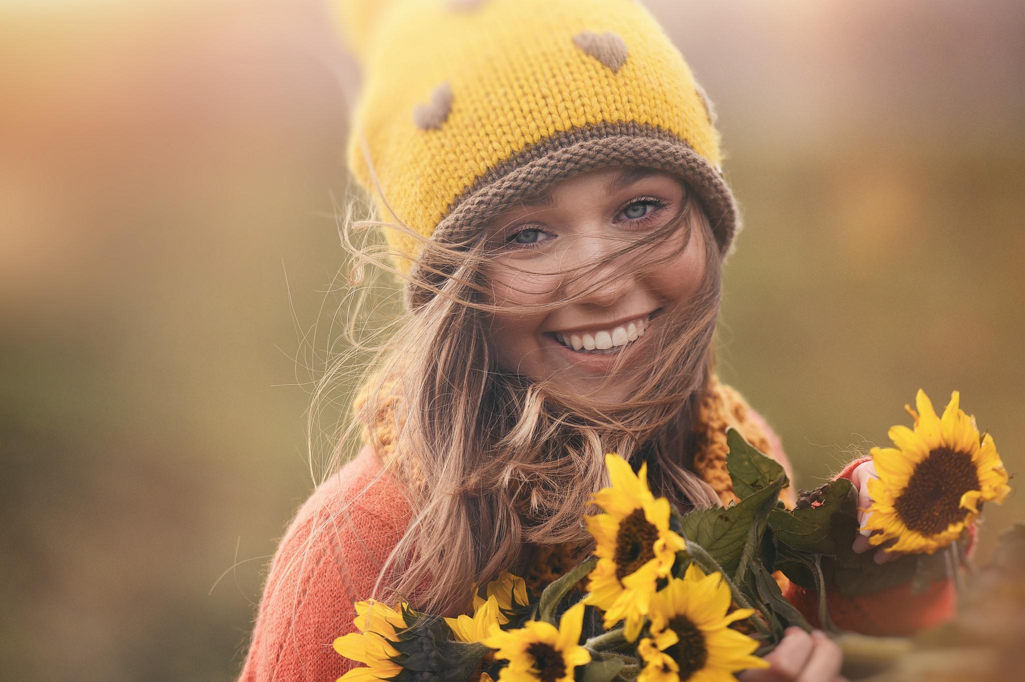 простой улыбнись подружка фото взбиваем