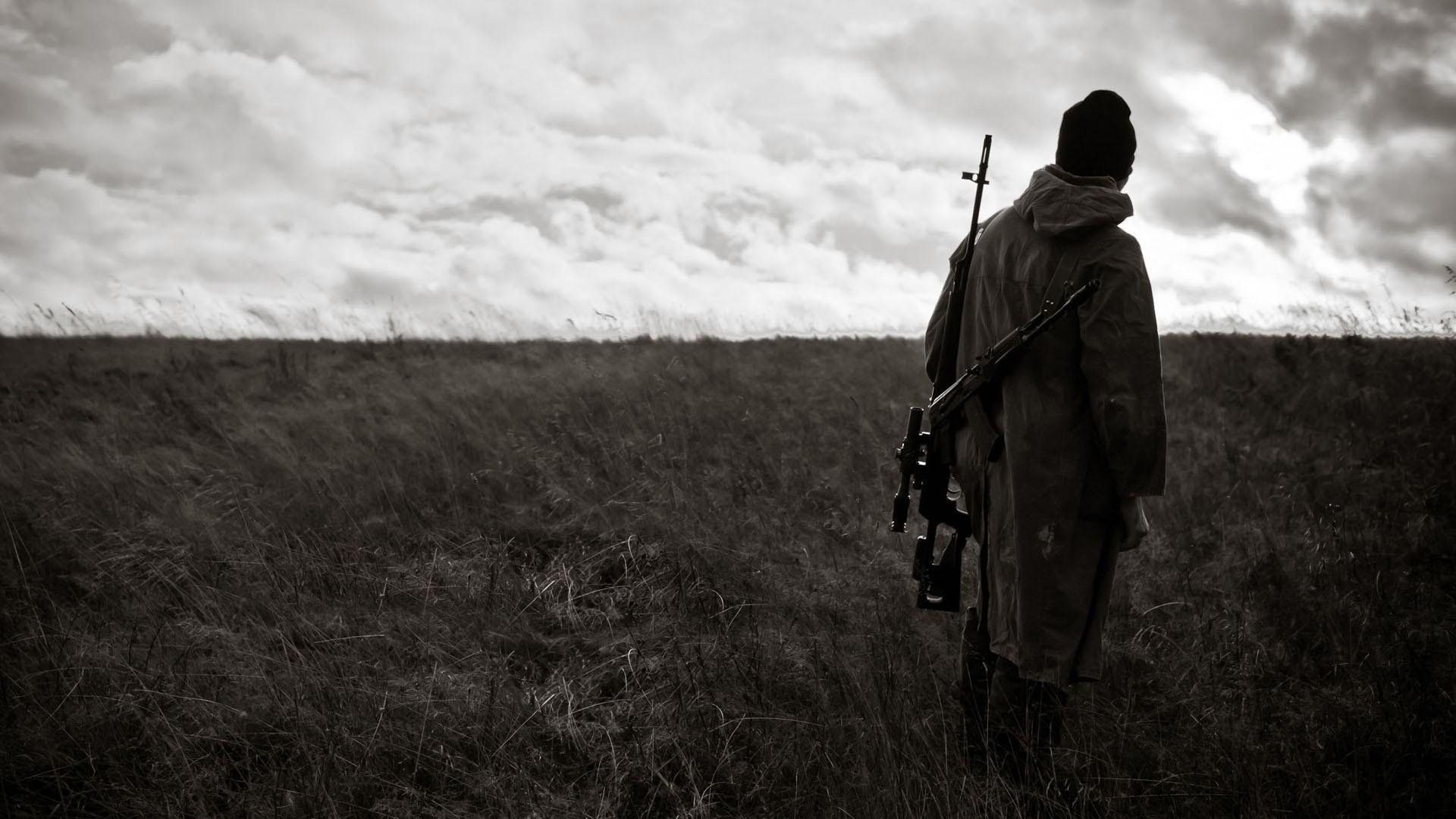 Sniper Rifle Target Dragunov AK 74 Sky Saw Everything
