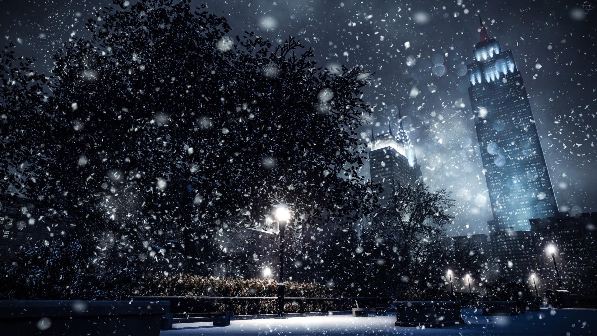 совсем картинки на рабочий стол с падающим снегом оформить зал