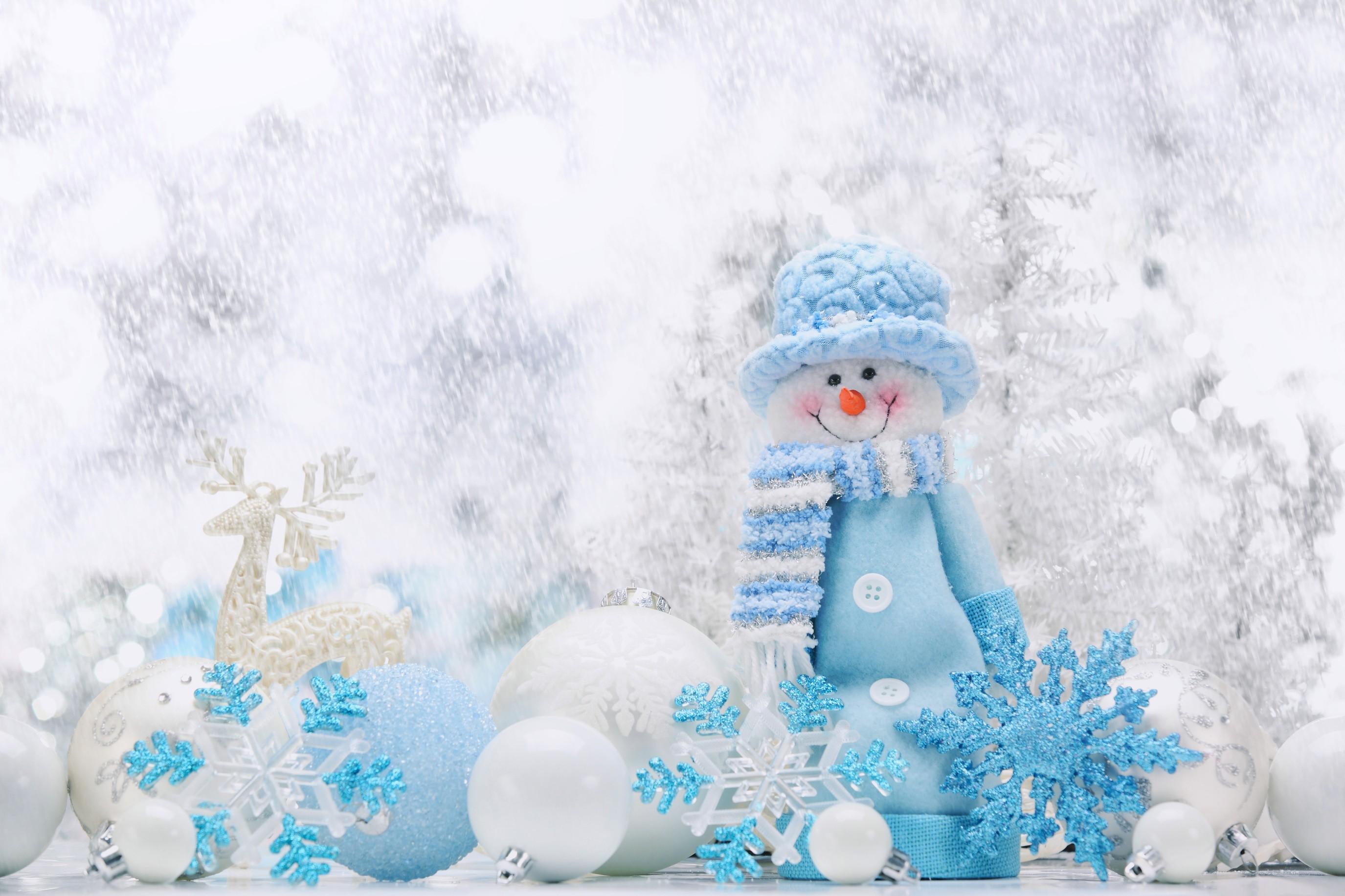 デスクトップ壁紙 冬 青 氷 雪だるま クリスマス 凍結 天気