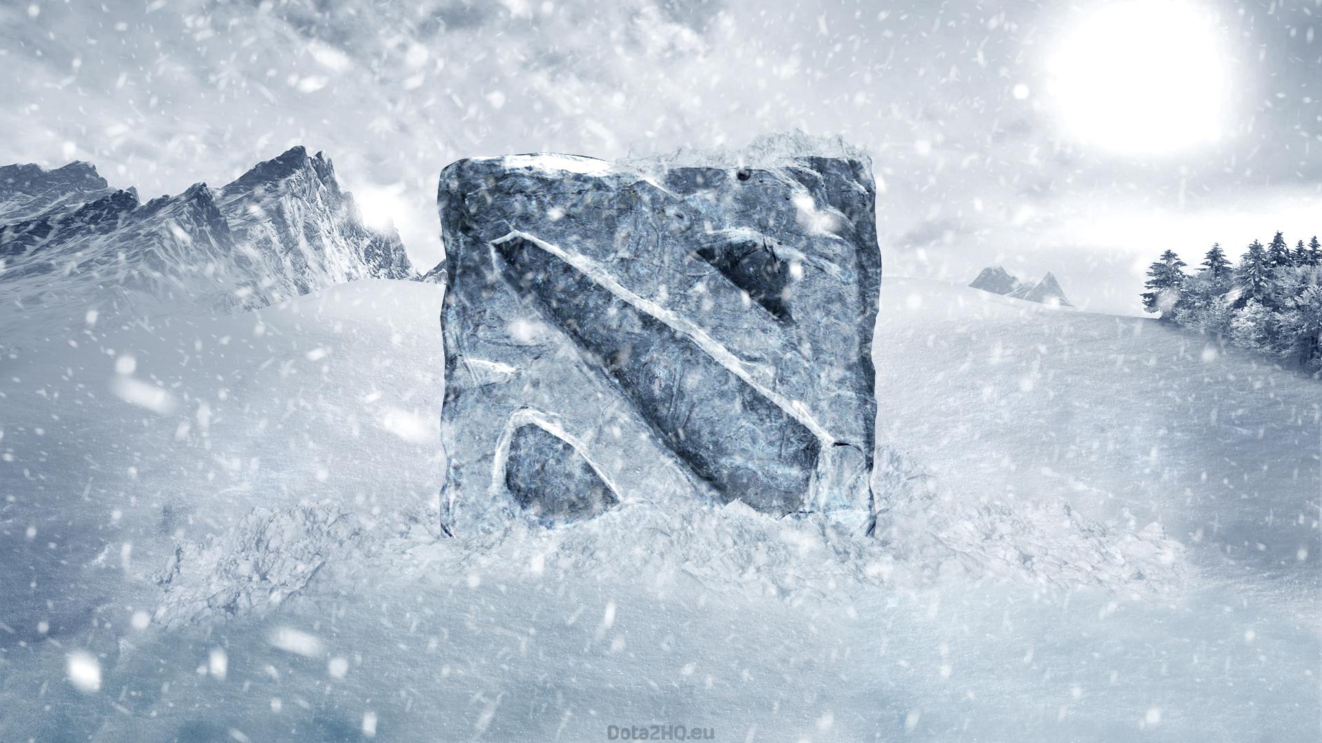 Snow Winter Logo Ice Frost Dota 2 Freezing Weather Season Frozen Blizzard Geological Phenomenon Storm