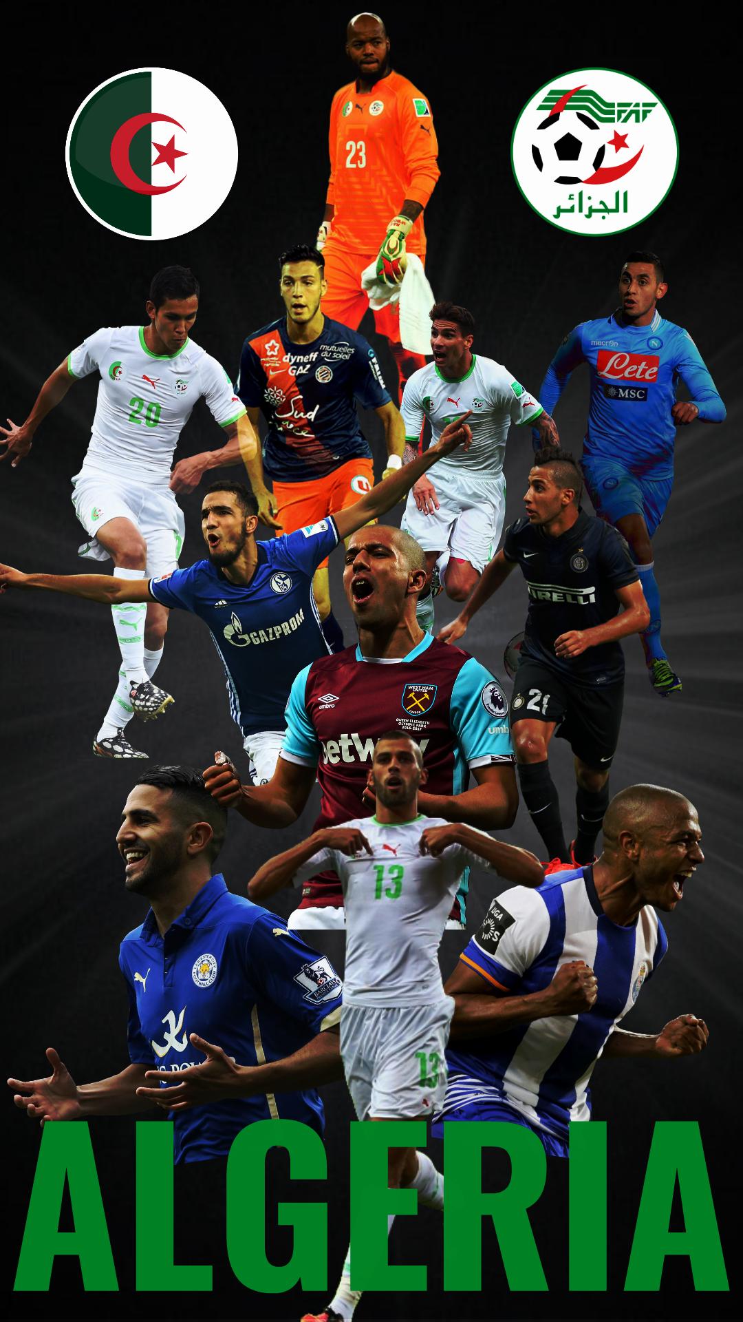 Fond D Écran Algerie fond d'écran : algérie, équipe de football, première ligue, fifa