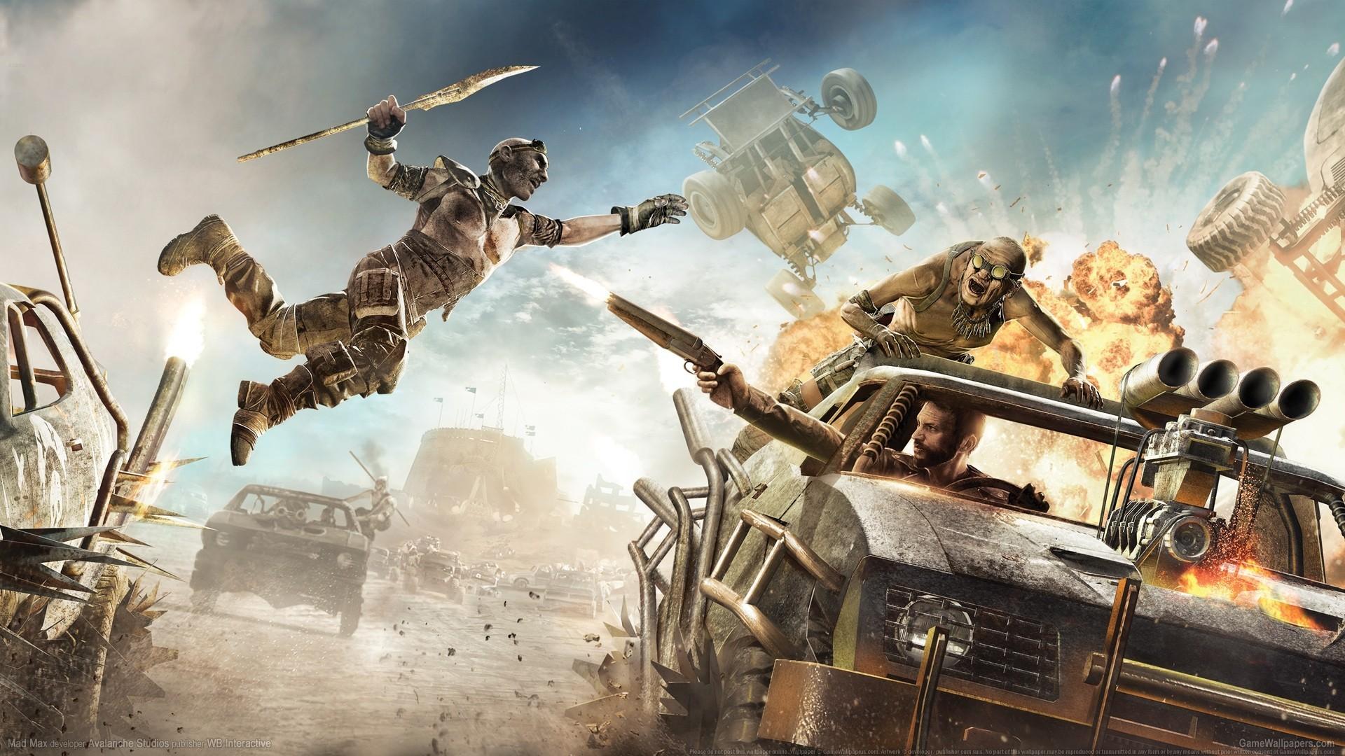 Wallpaper Soldier Mythology Mad Max Mad Max Game Screenshot