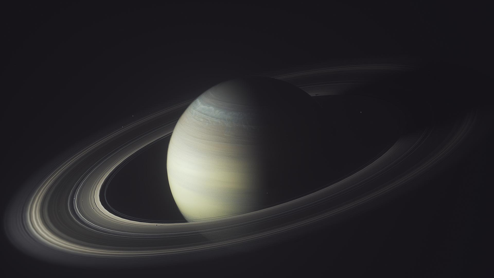 Space Saturn Asteroid Universe Planet Dark