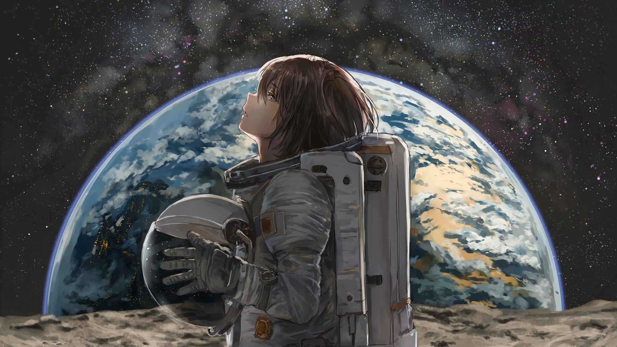 space anime