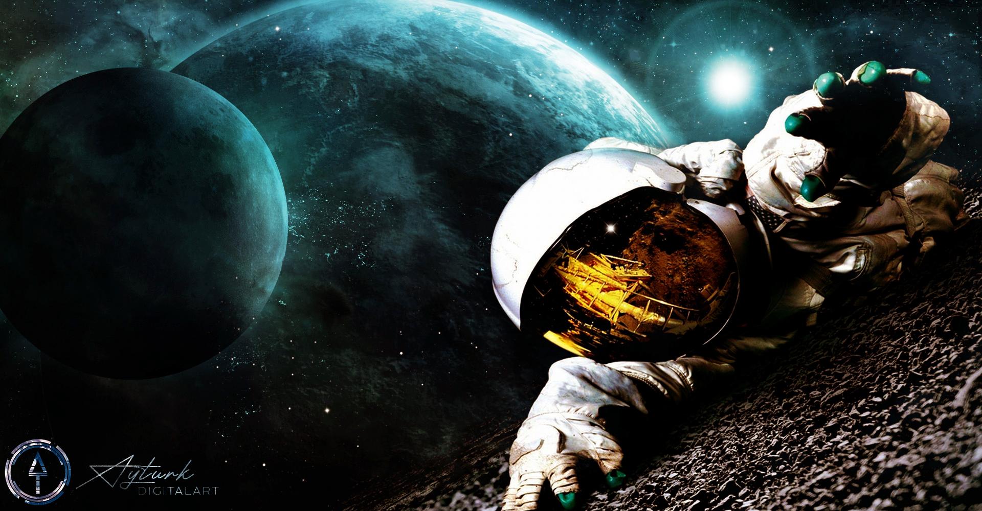 Wallpaper : space art, TolgaAyt rk, NASA, spacescapes