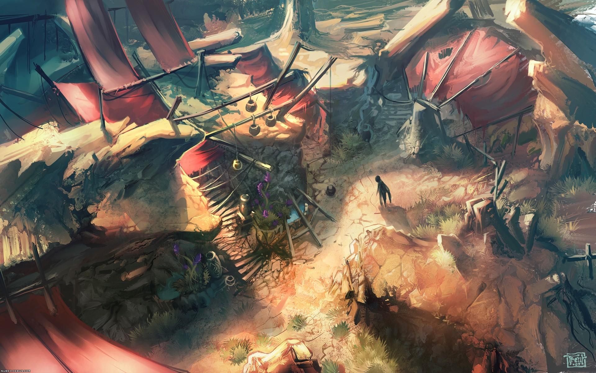 Wallpaper Space Battle Soldier Diablo Iii Screenshot