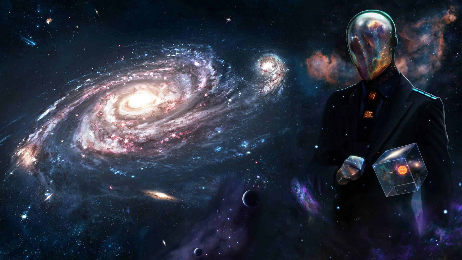 Wallpaper Space Galaxy Surreal 1920x1080 Kommandoh 1455269