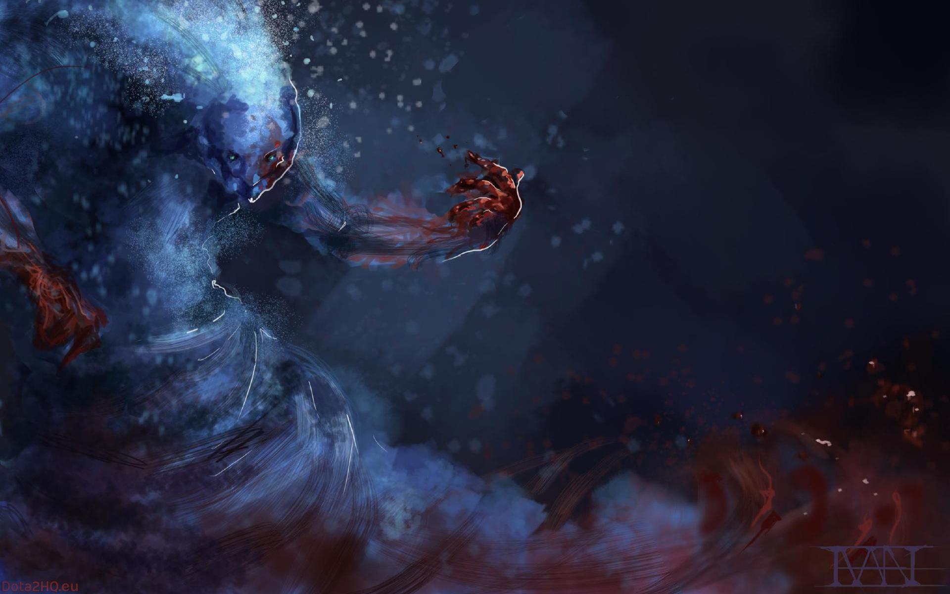 Wallpaper : nebula, Dota 2, universe, ART, darkness