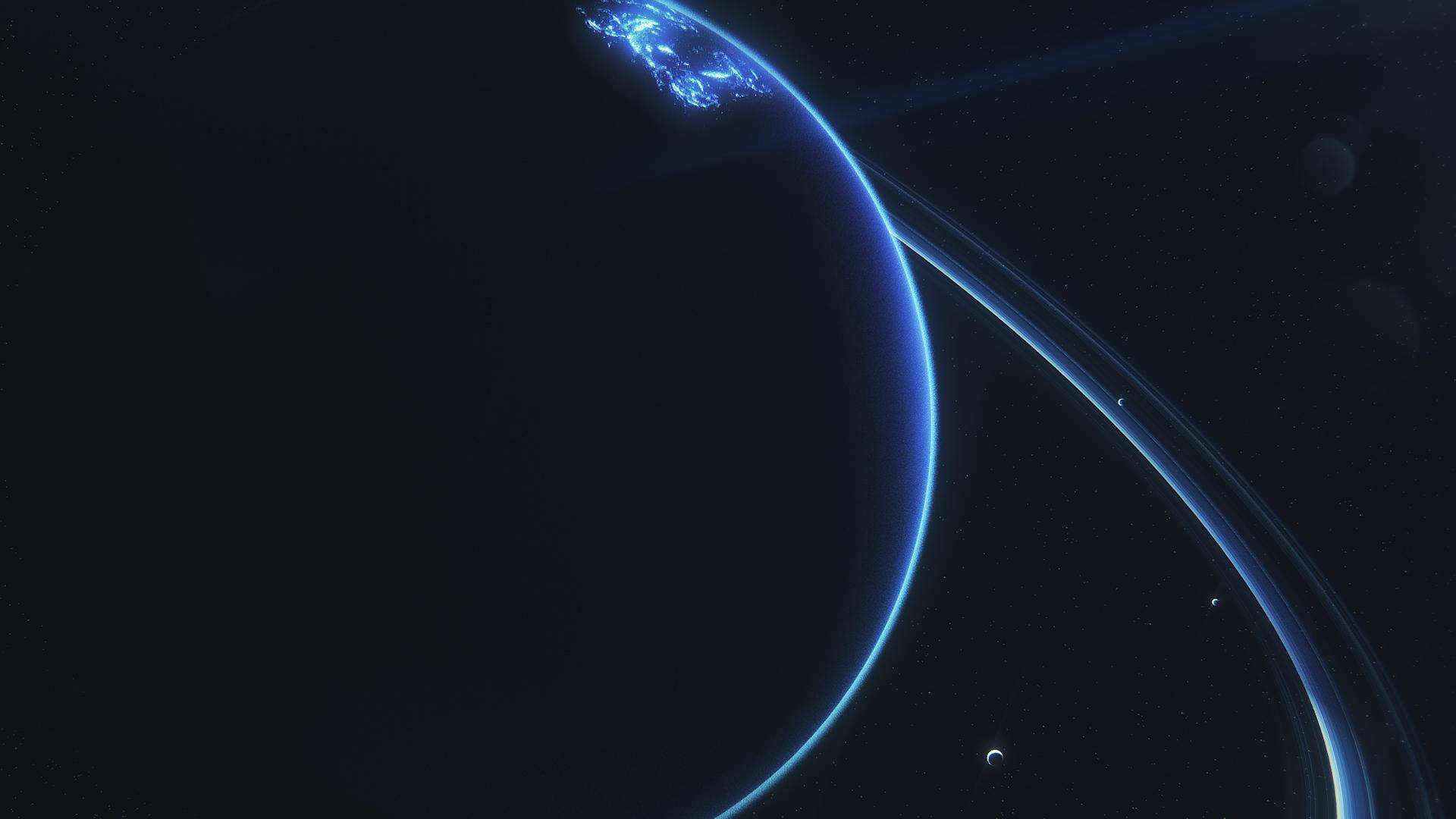 Wallpaper Space Sky Uranus Planet 1920x1080 Ageme 1286999