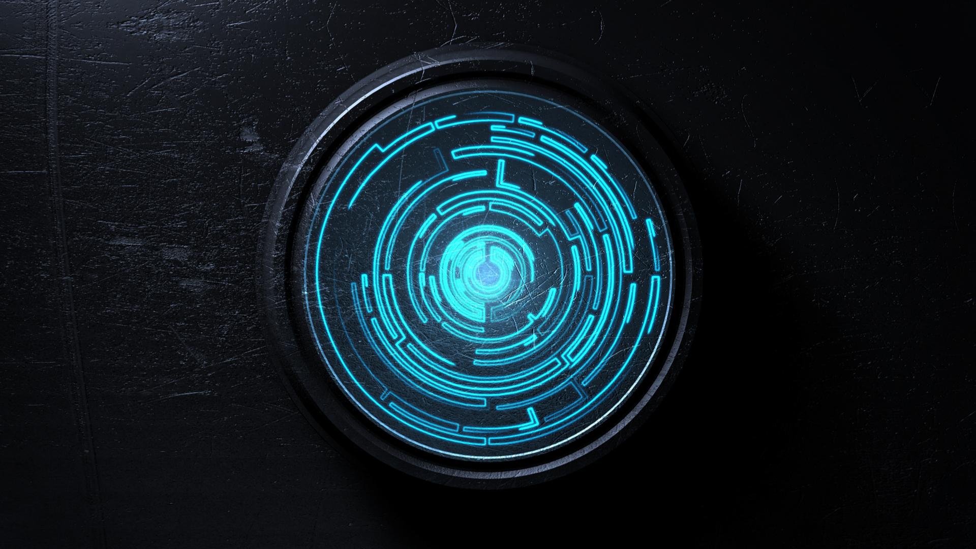 Wallpaper Spiral Sphere Logo Symmetry Blue Circle Vortex