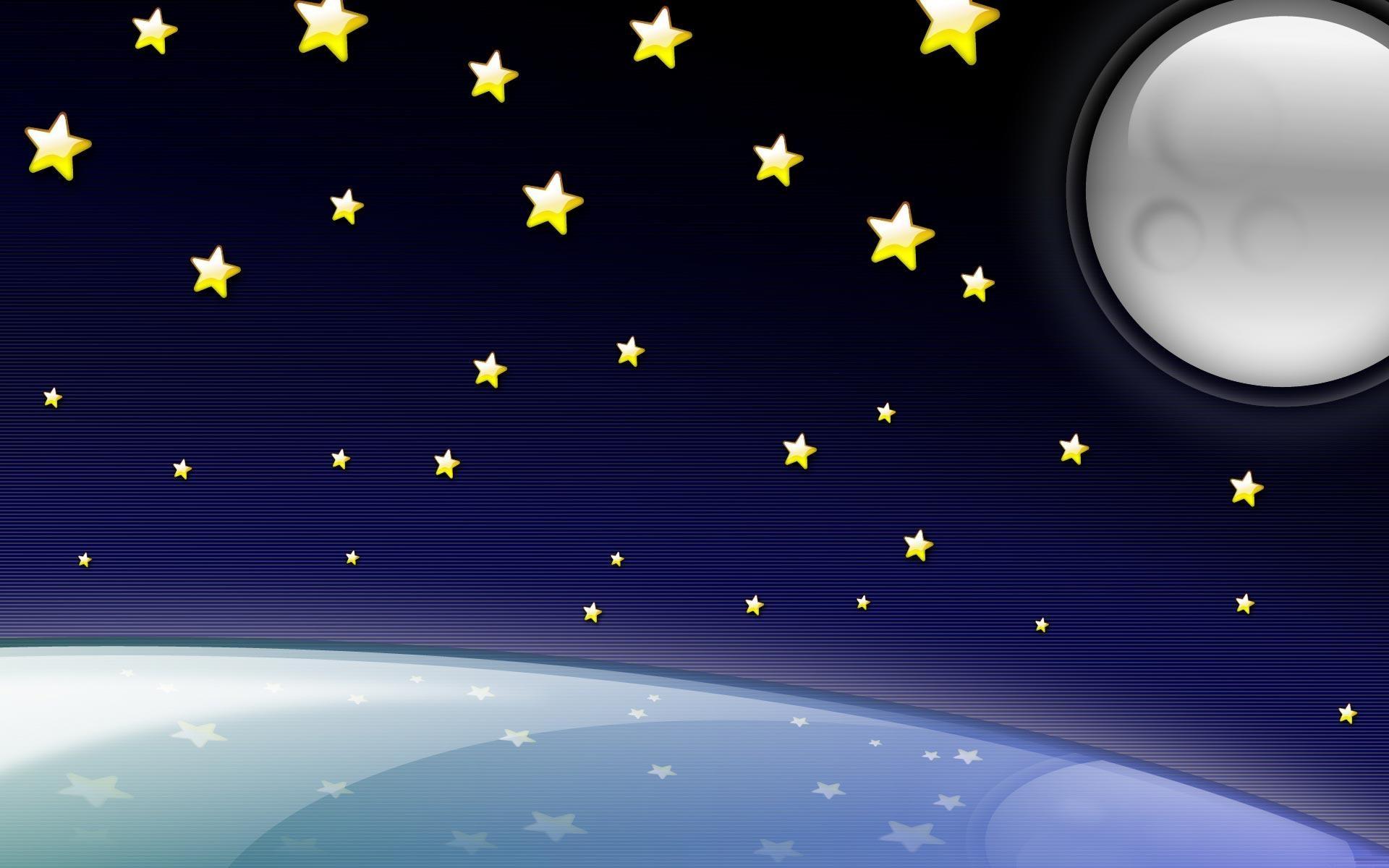 рисунки звездное небо любители тихой