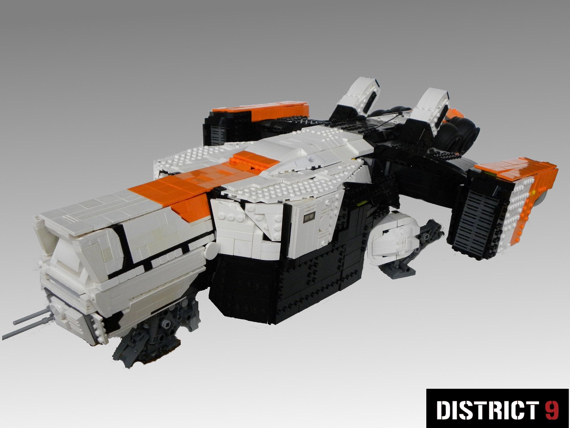fond d 39 cran espace lego vaisseau spatial la technologie jouet machine 9 district moc. Black Bedroom Furniture Sets. Home Design Ideas