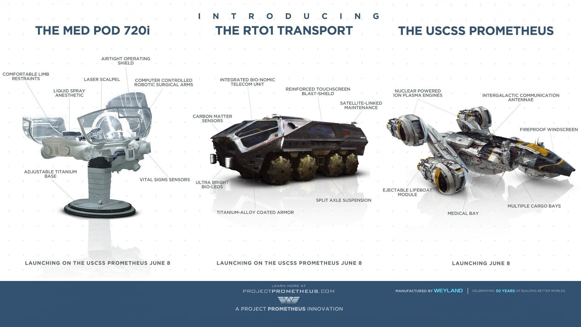 Hintergrundbilder : Platz, Fahrzeug, Raumschiff, Marke, Prometheus ...