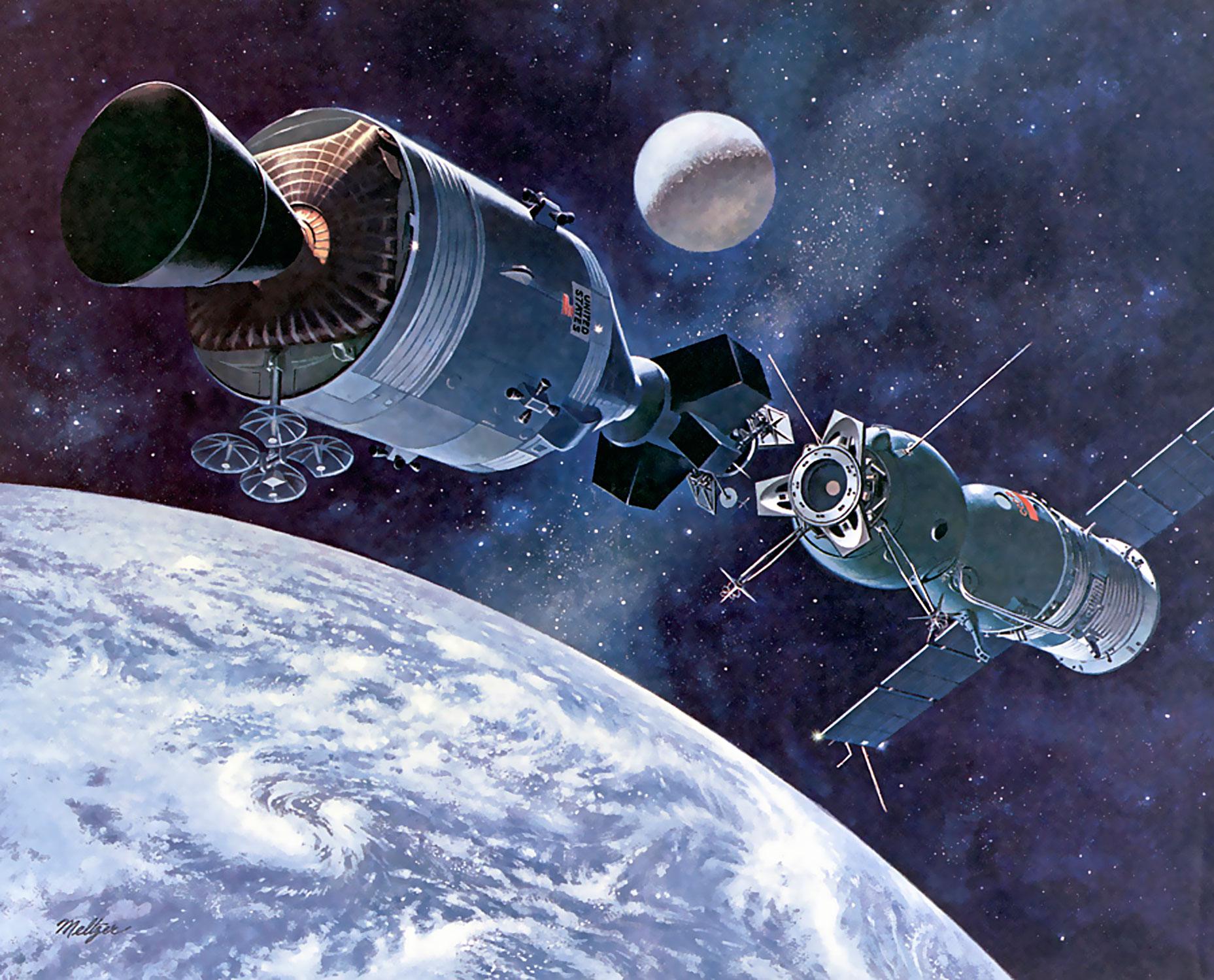 Wallpaper Kendaraan Angkasa Satelit Suasana Luar Angkasa