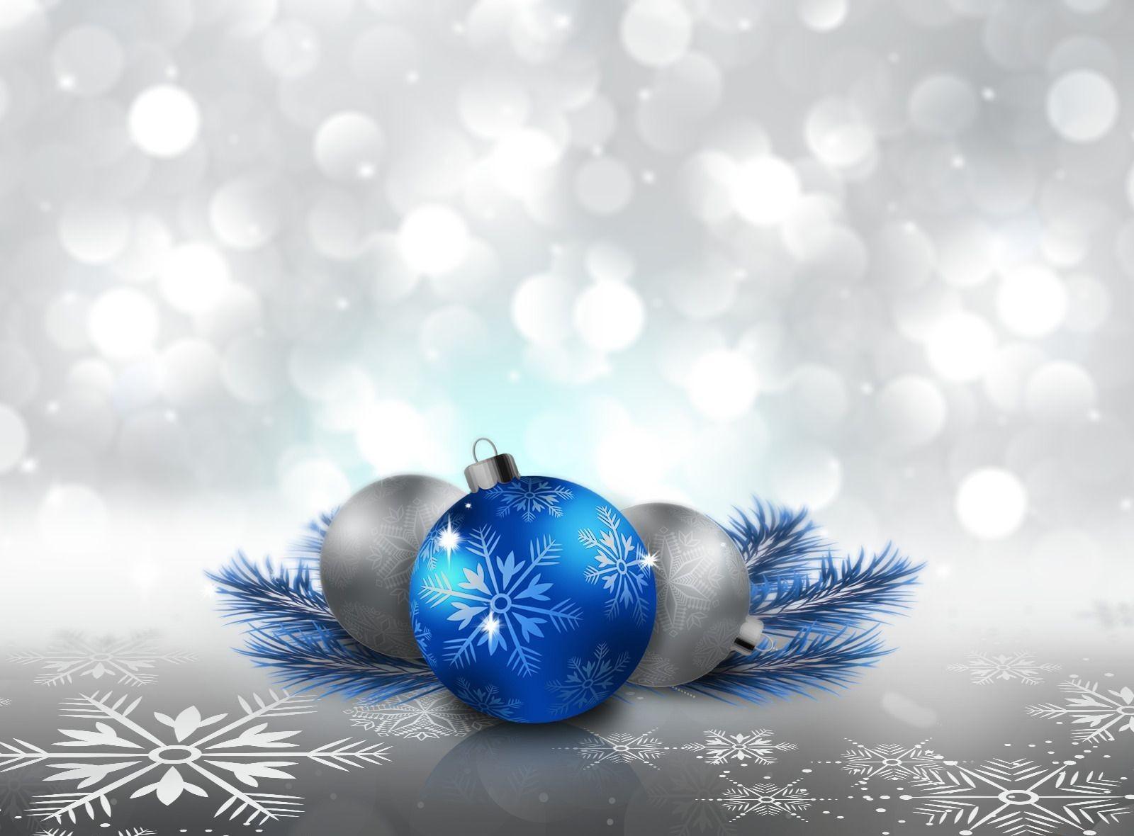 Fondos de pantalla esfera rama azul circulo navidad copos de nieve agujas bolas pelota - Blaue christbaumkugeln ...