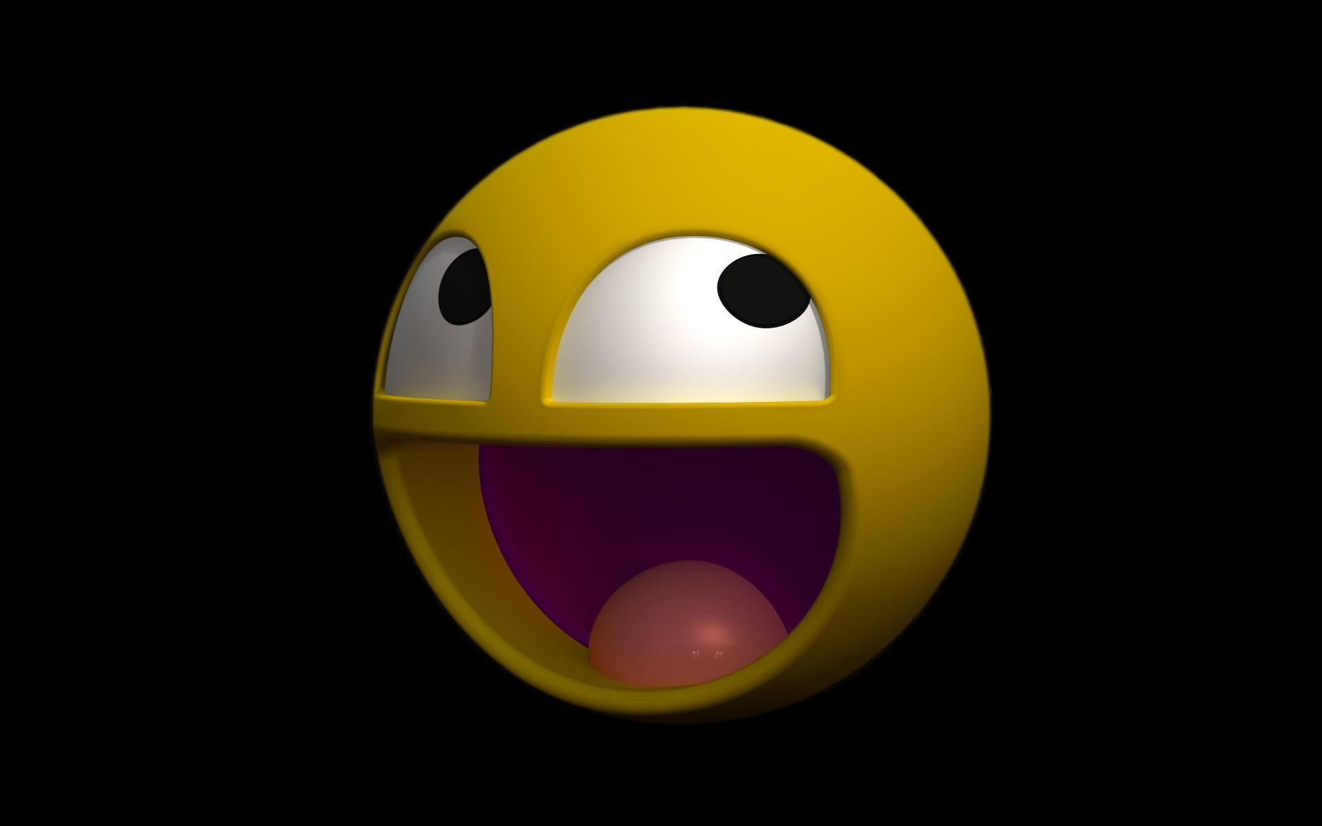 Wallpaper Sphere Yellow Circle Smiley Icon Smile