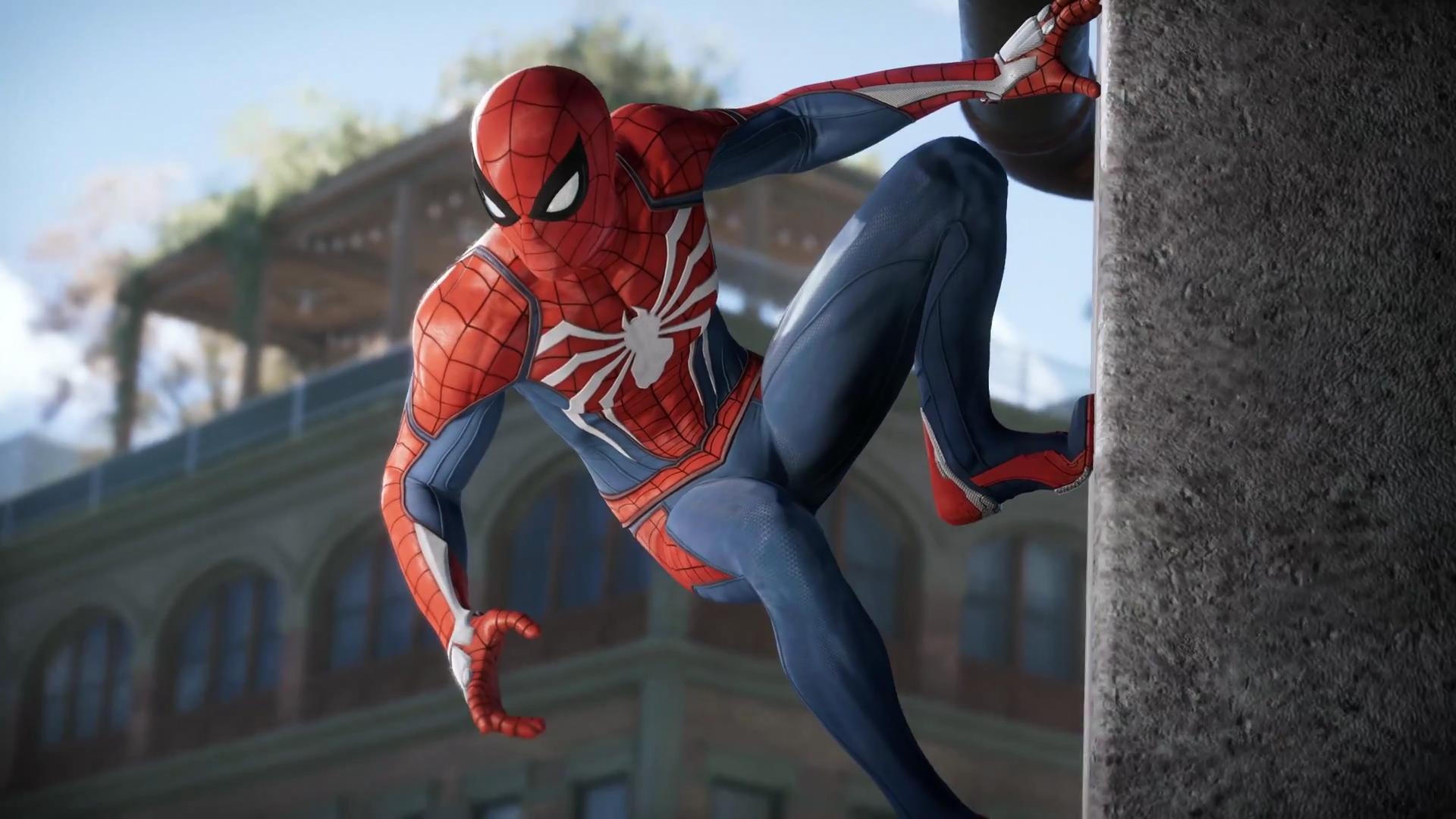 Фото человека паука игры