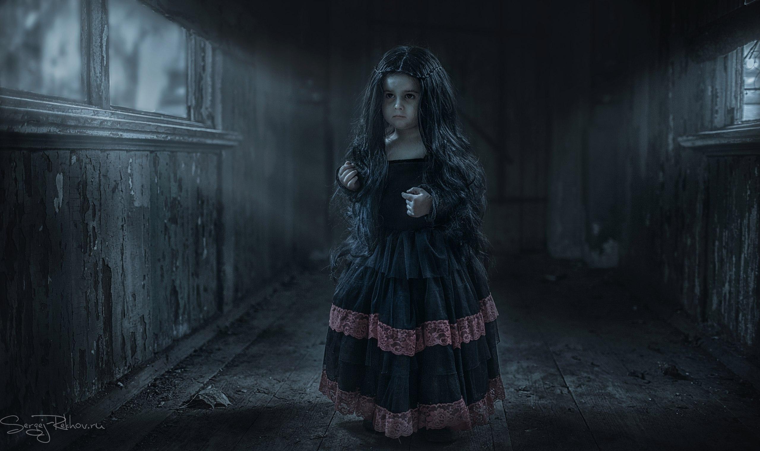 Страшные картинки с девочками