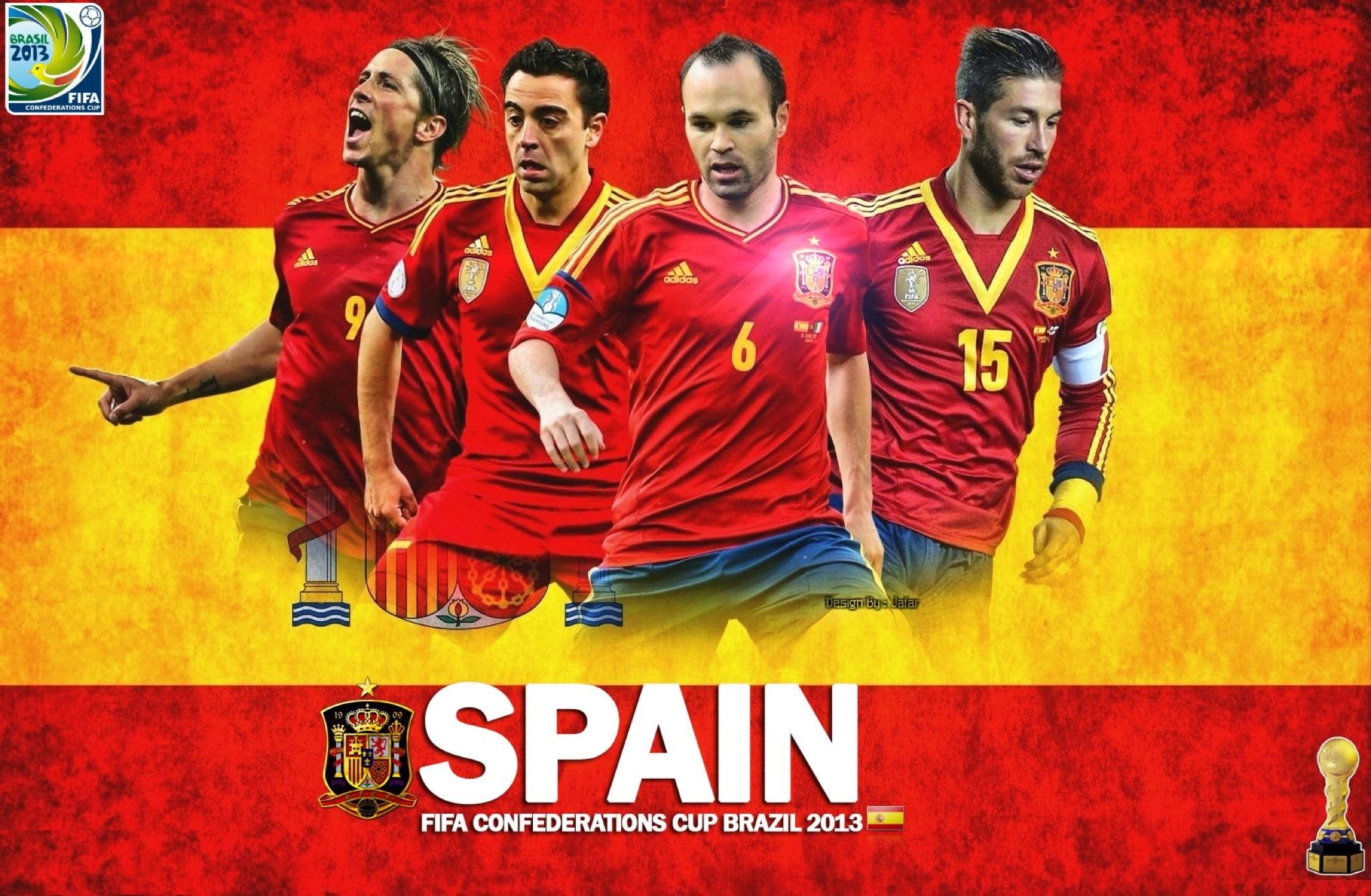 Испания футбол обои