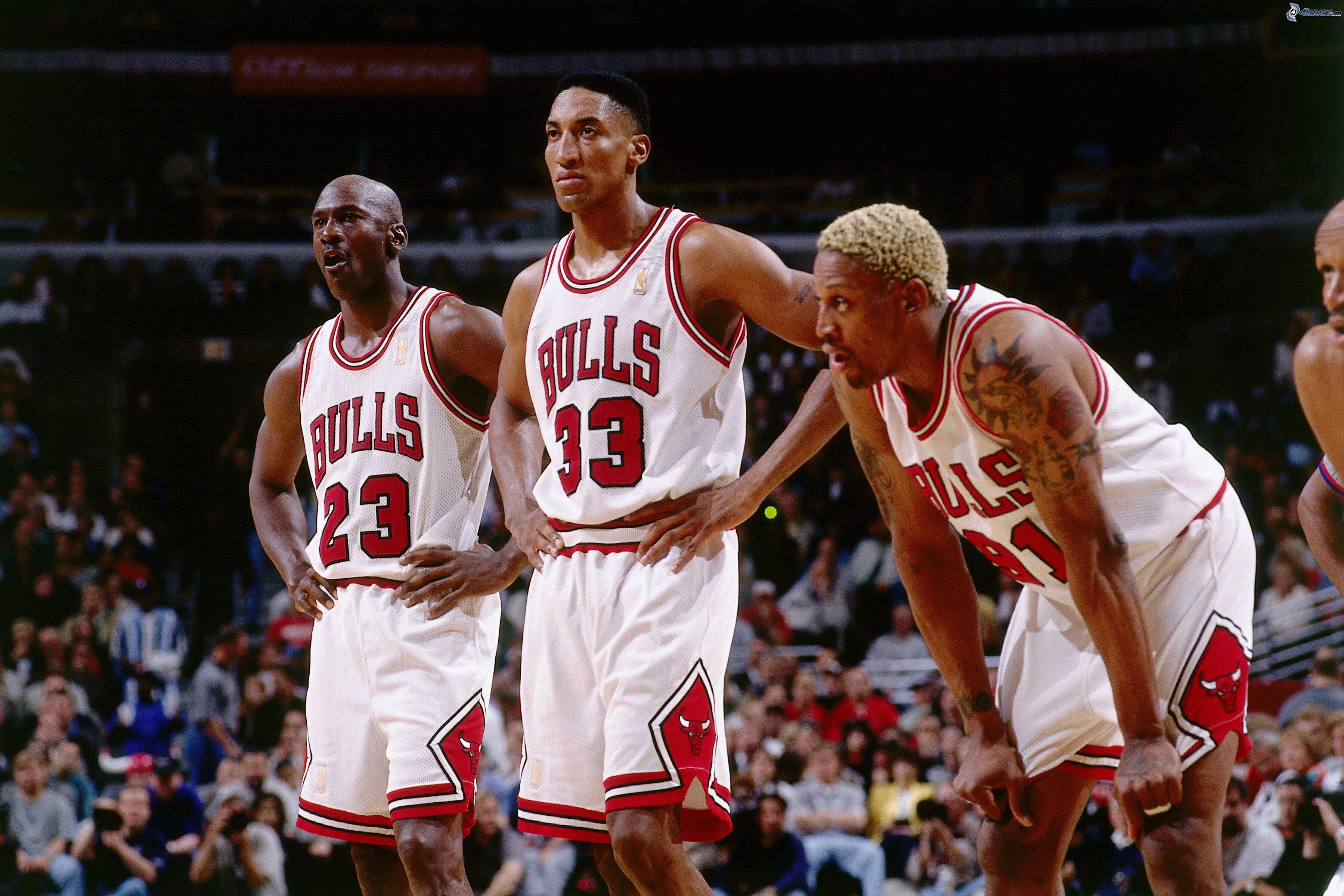 Wallpaper Sports Nba Chicago Bulls Michael Jordan Slam Dunk
