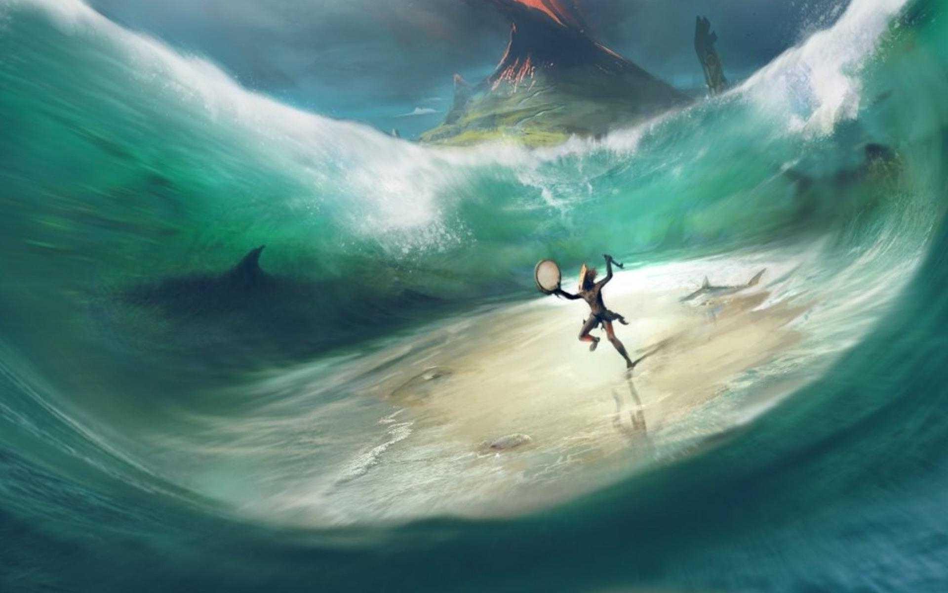 Wallpaper Fantasy Art Sea From Dust Ubisoft Ocean