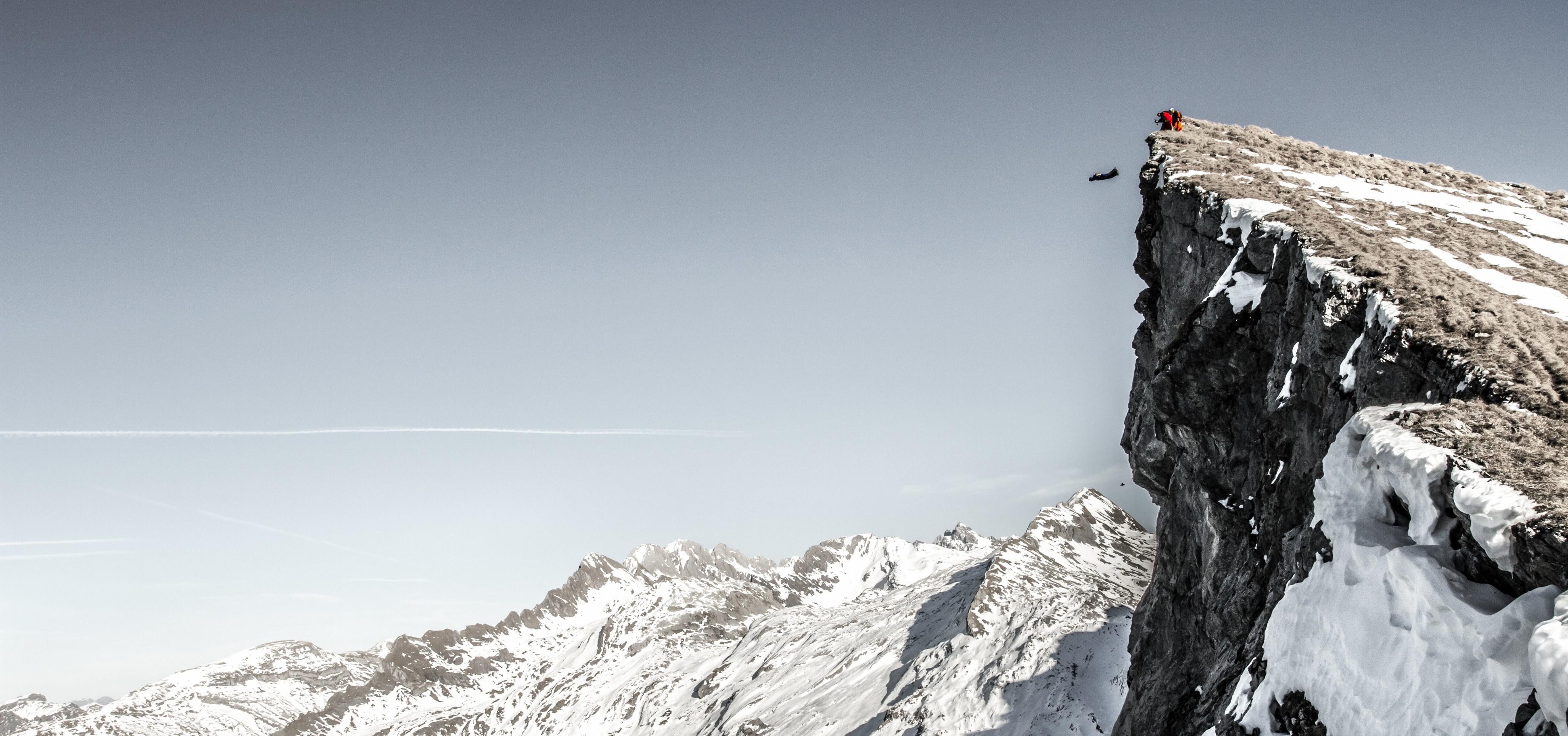 fond d 39 cran des sports paysage montagnes la nature neige hiver falaise alpes sommet. Black Bedroom Furniture Sets. Home Design Ideas