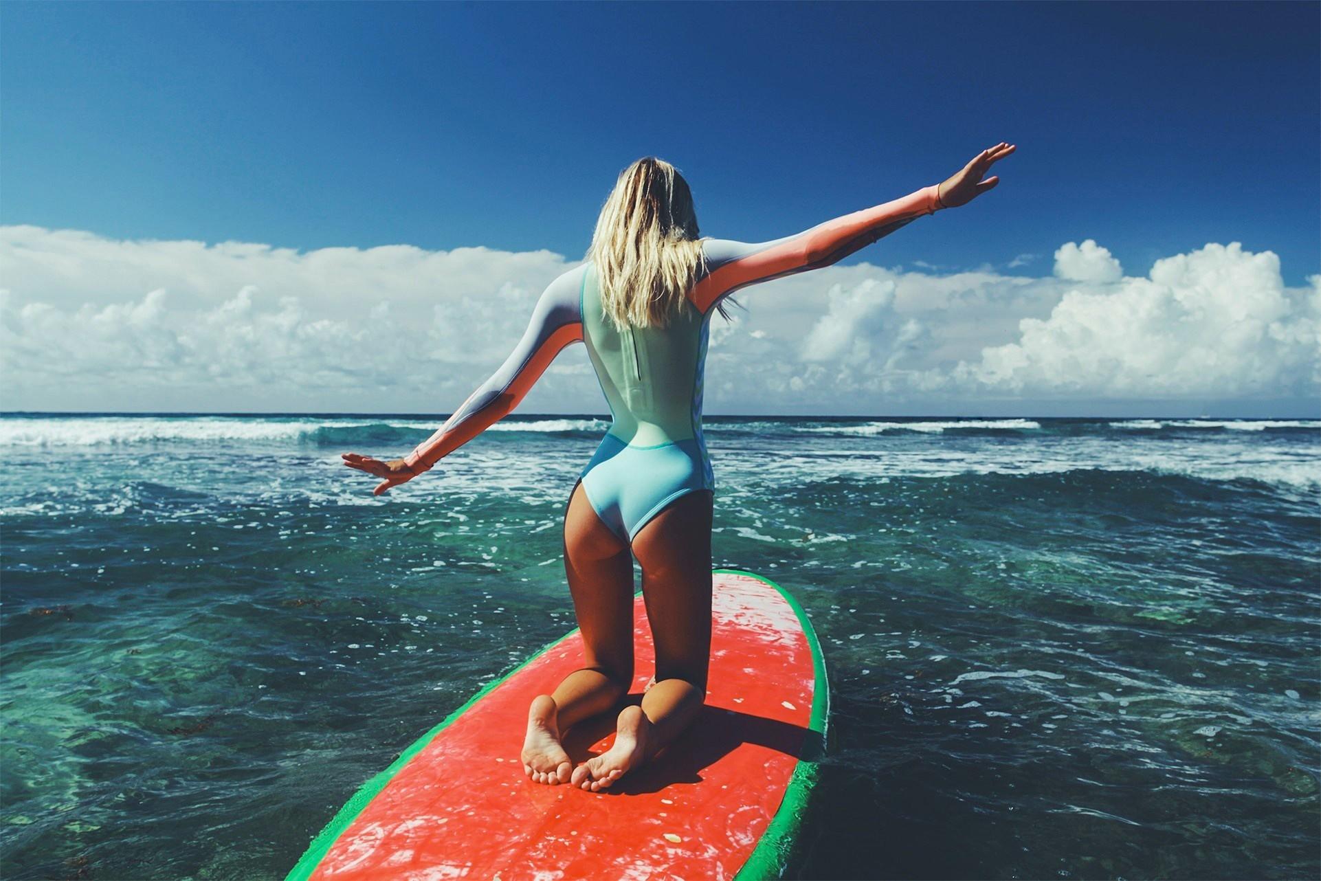 limpiar mujer Deportes acuáticos