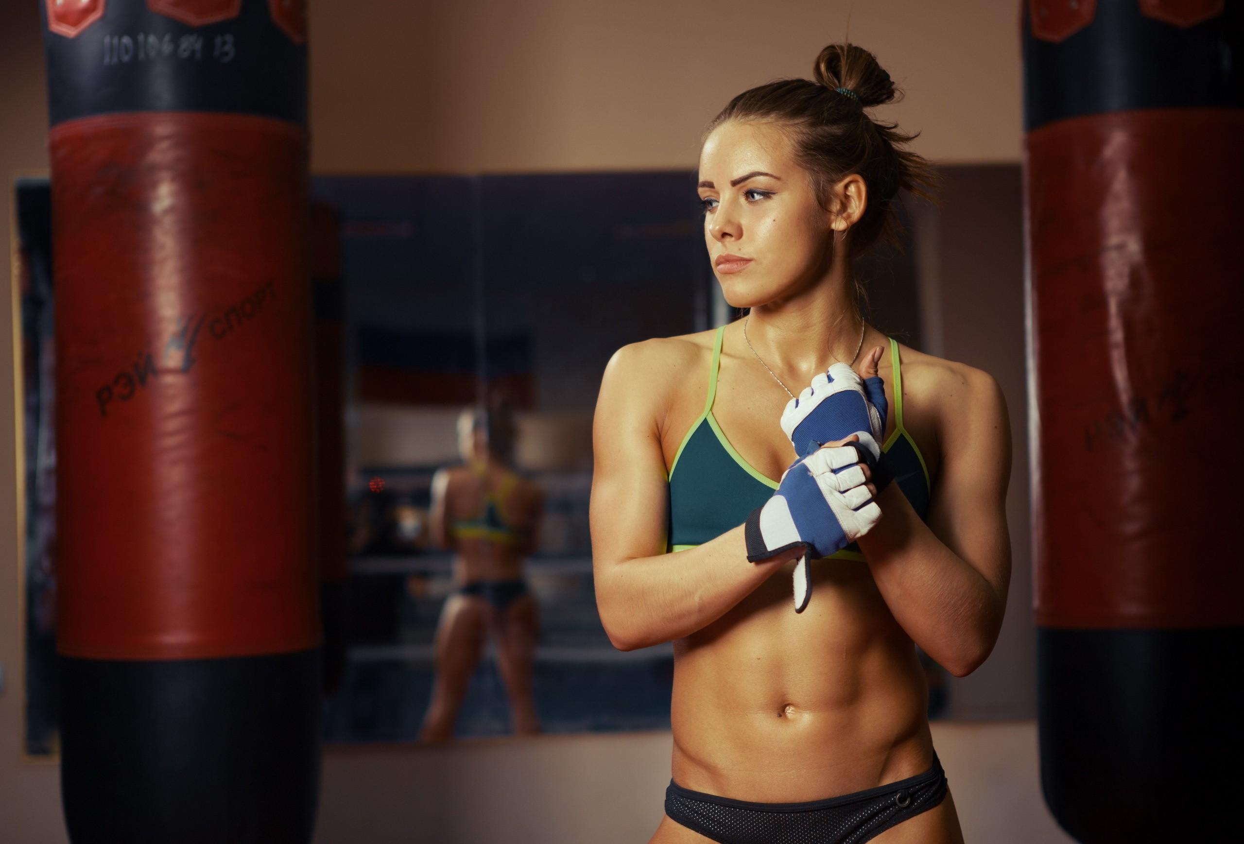 Девушки тайский бокс фигуры