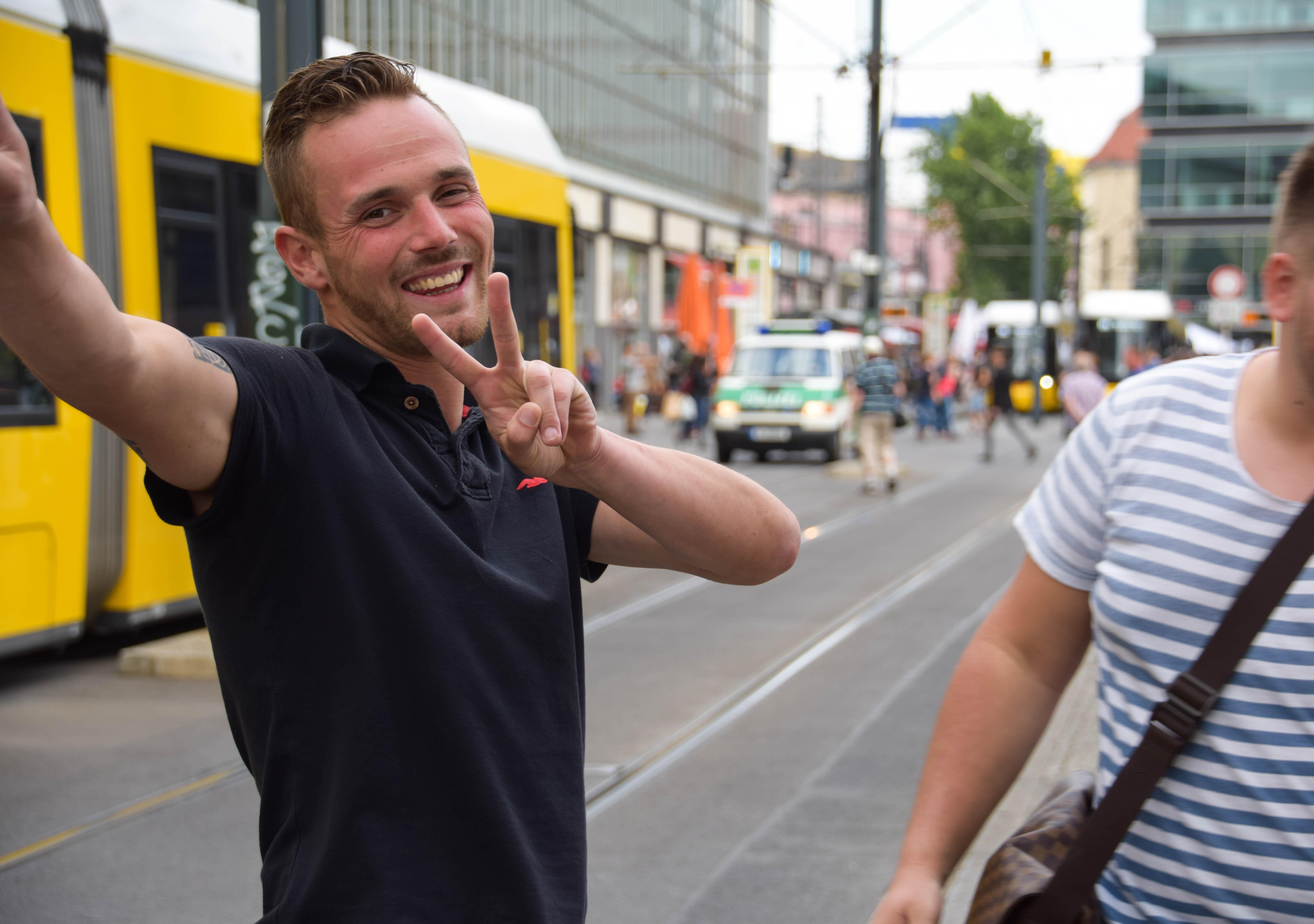 Wallpaper People Germany Traffic Tram Endurance