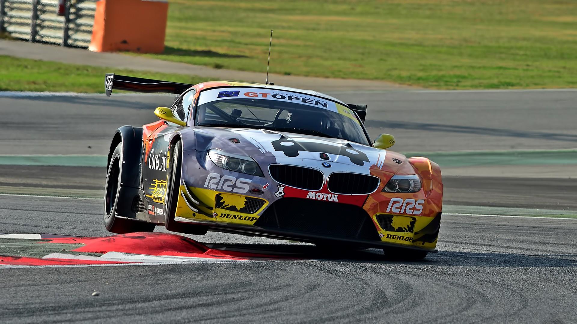 Wallpaper Race Cars Sports Car Bmw Z4 Gt3 Performance Car