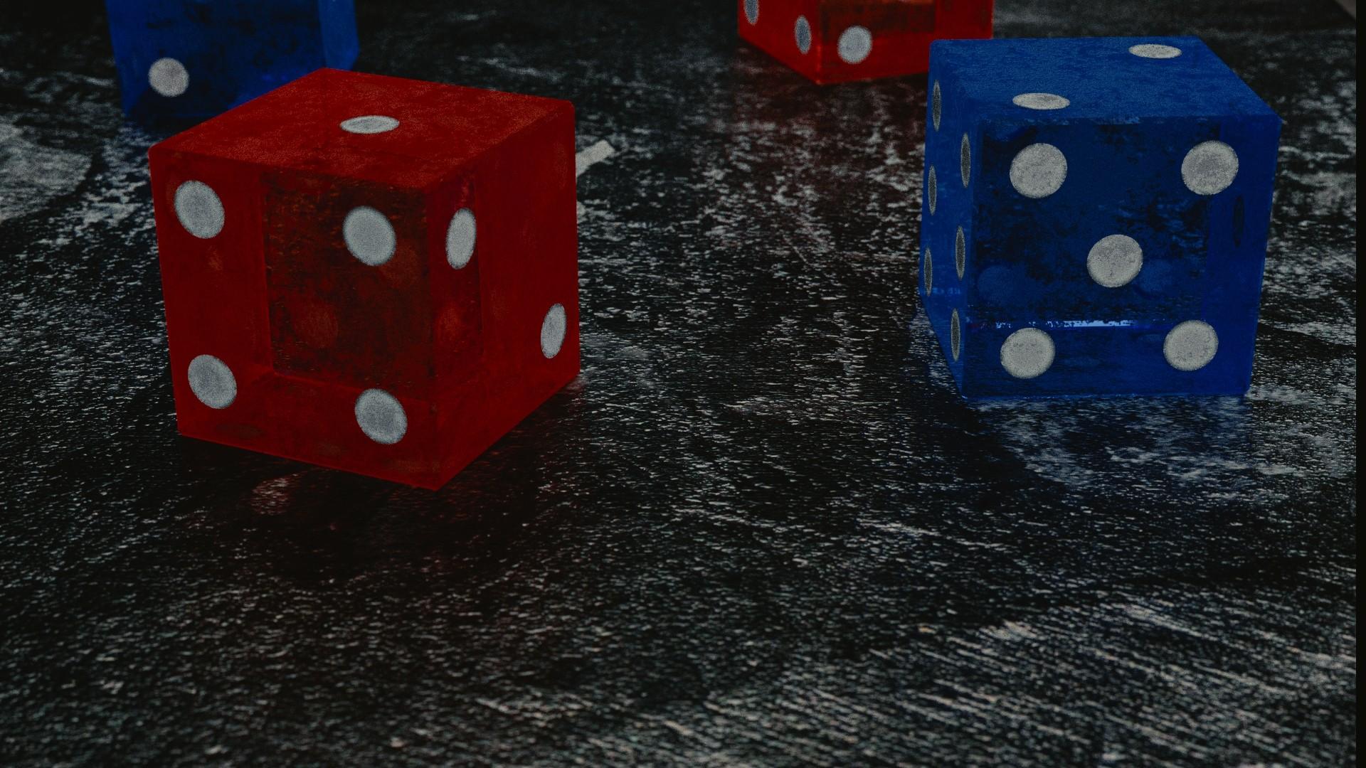 デスクトップ壁紙 赤 Cgi 青 サイコロ 数 レクリエーション 屋内ゲーム スポーツ ボードゲーム ダイスゲーム 卓球ゲーム 19x1080 Hanako デスクトップ壁紙 Wallhere