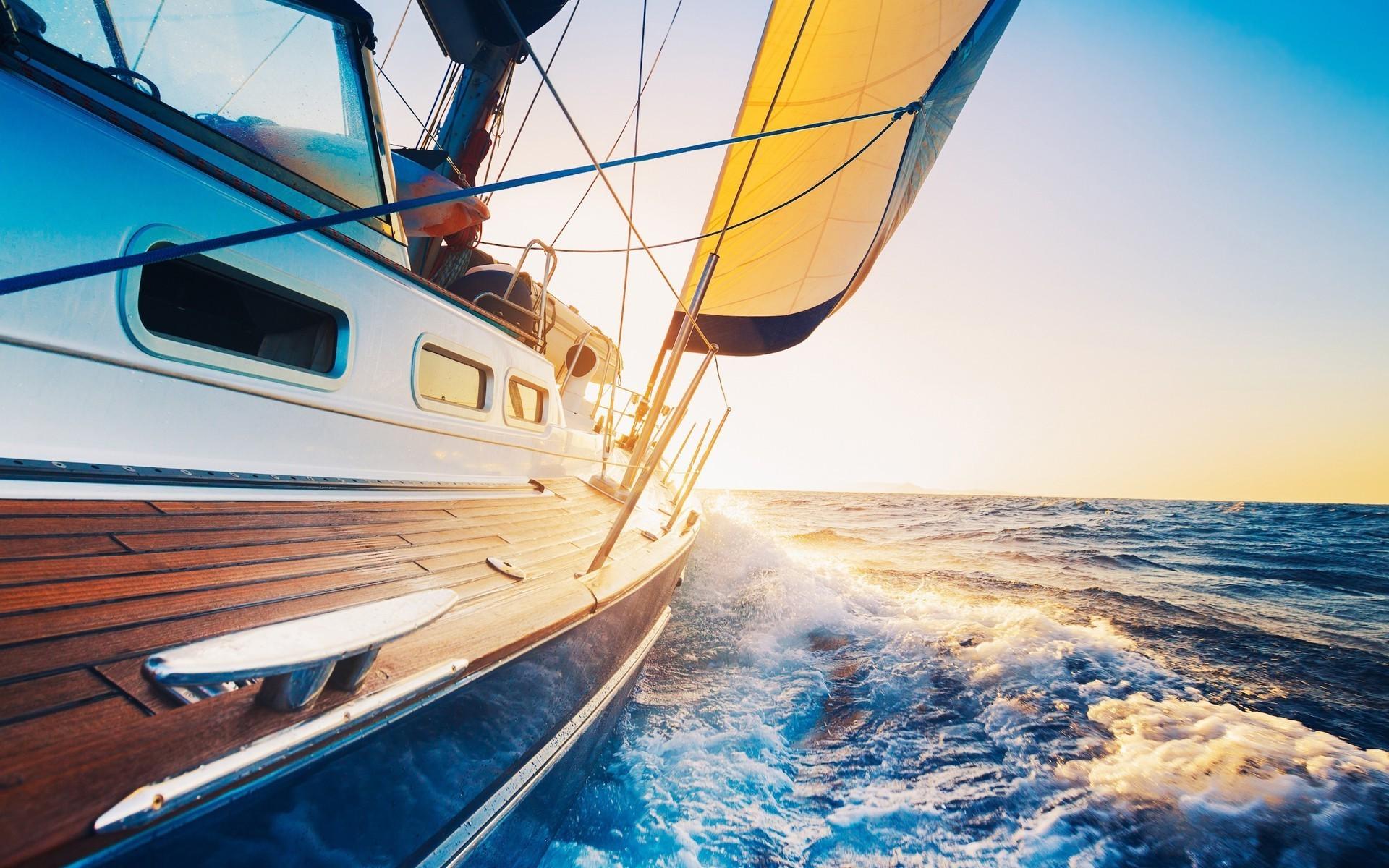 Fond d 39 cran des sports navire bateau voile mer - Photo de voilier gratuite ...