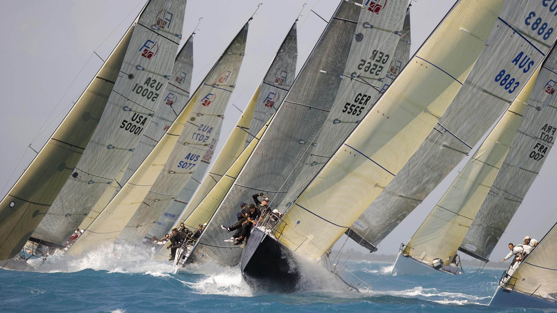 Fond d 39 cran des sports navire bateau voile - Photo de voilier gratuite ...