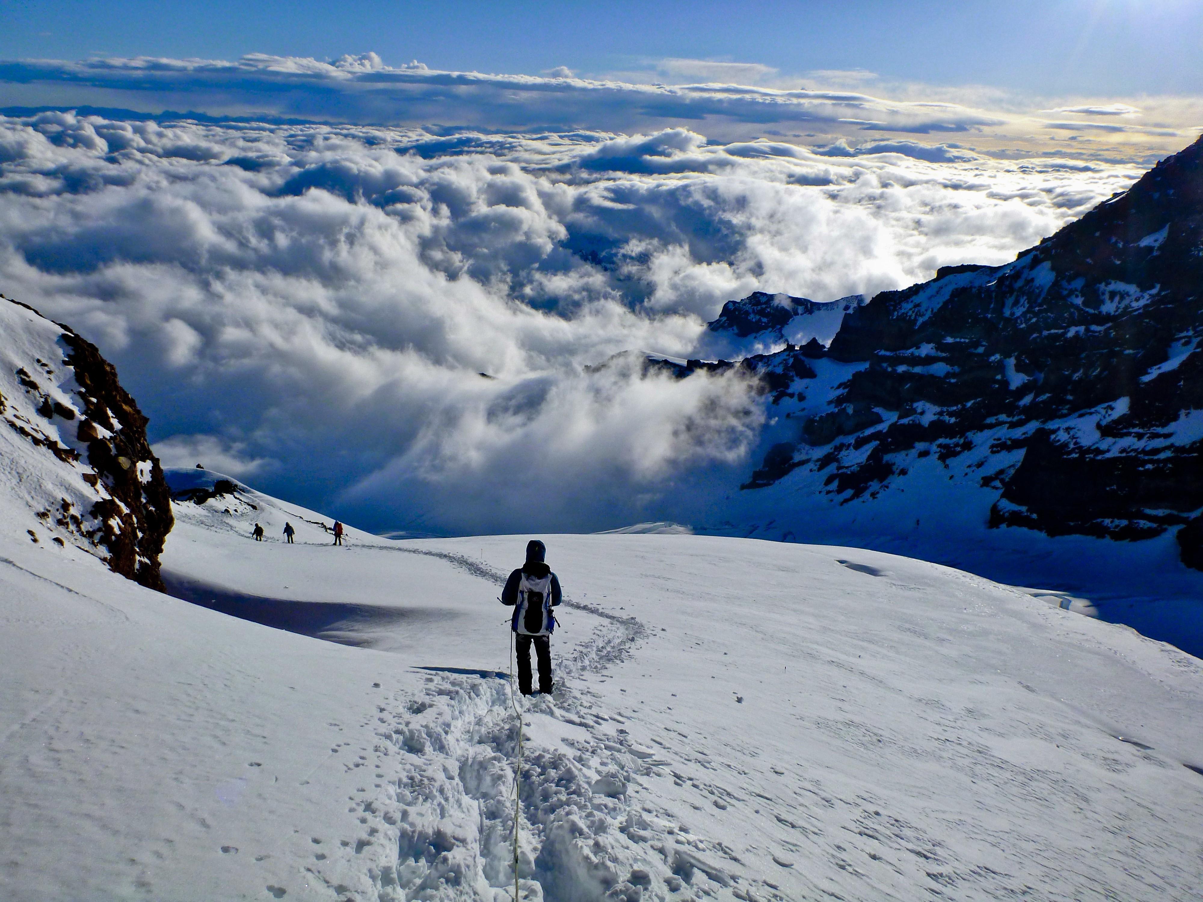 как фотографировать горы зимой выбрала