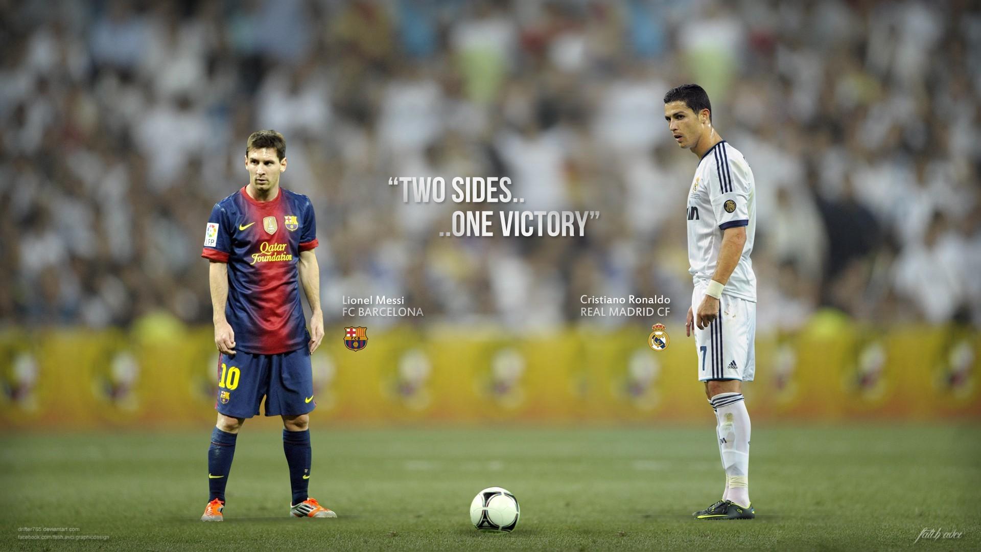 Wallpaper Stadium Real Madrid El Clasico Lionel Messi Fc