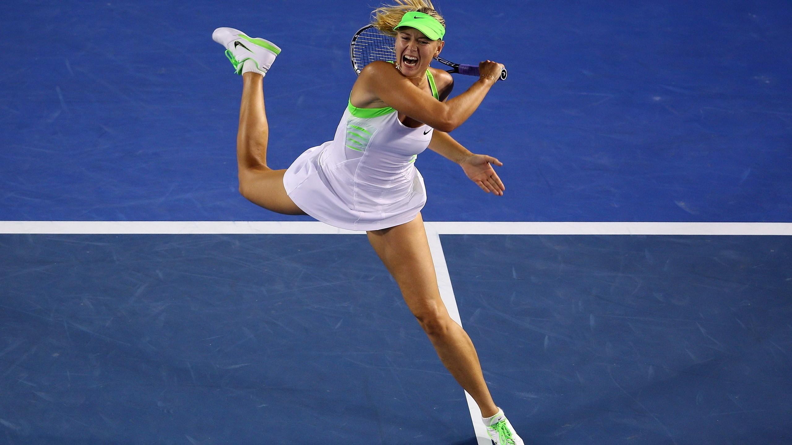 Обои ракетка, Мария шарапова, мяч. Спорт foto 14